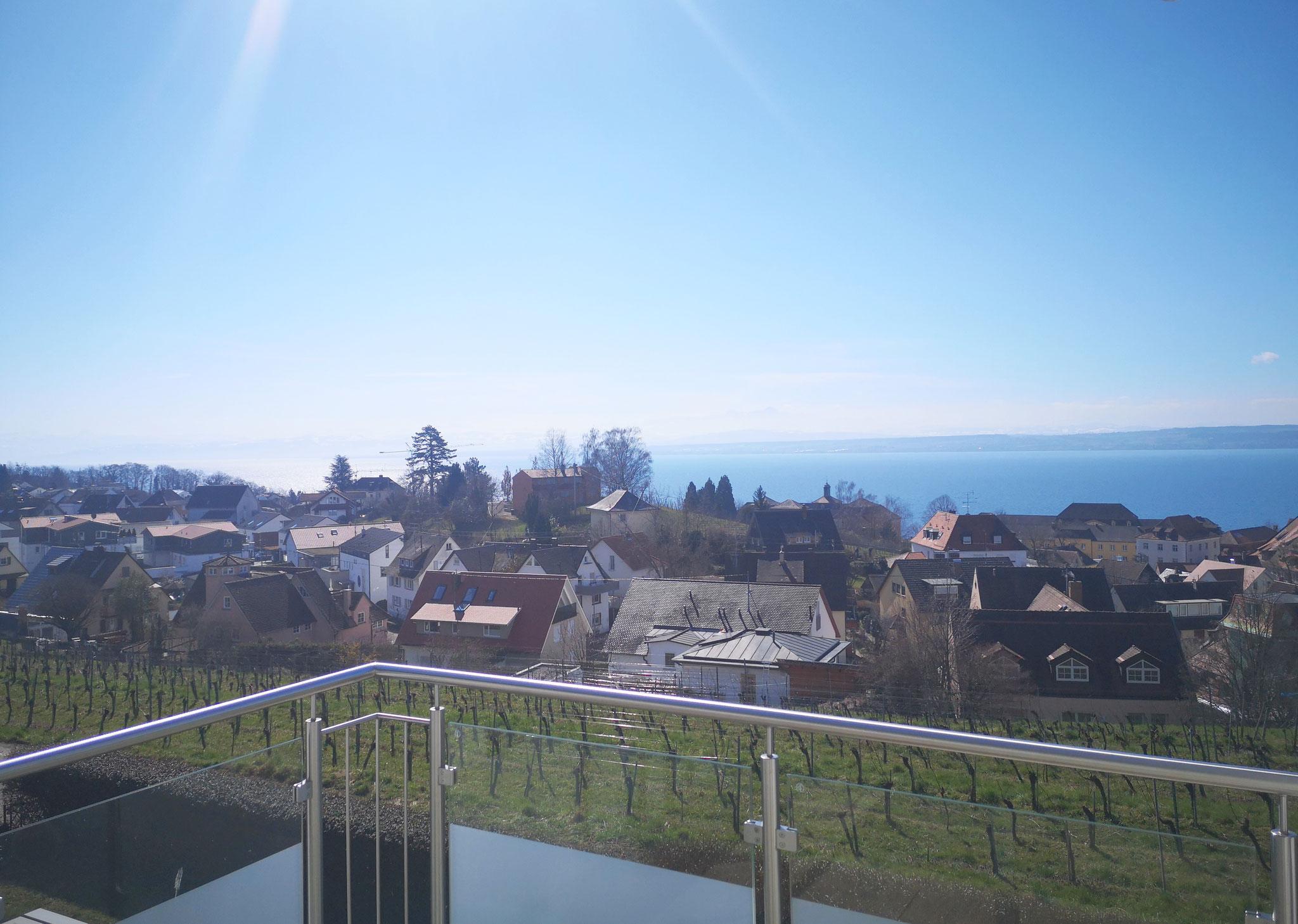 Ausblick OG-Balkon