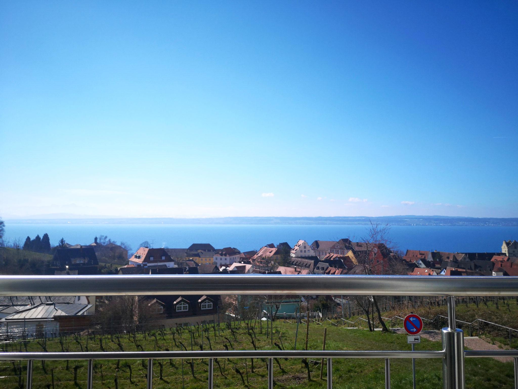 Ausblick Wohnen auf den Bodensee