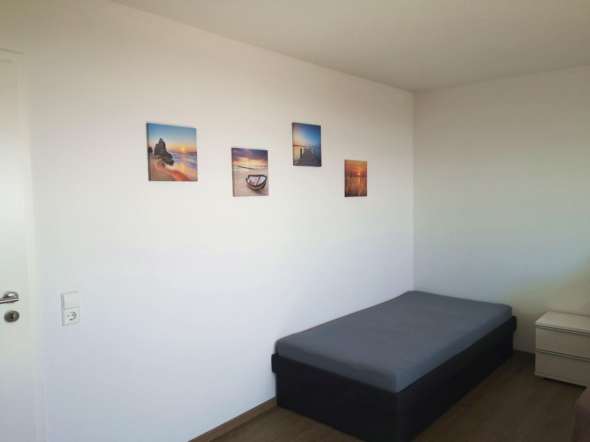 Einzelbett im Schlafzimmer (Süd)
