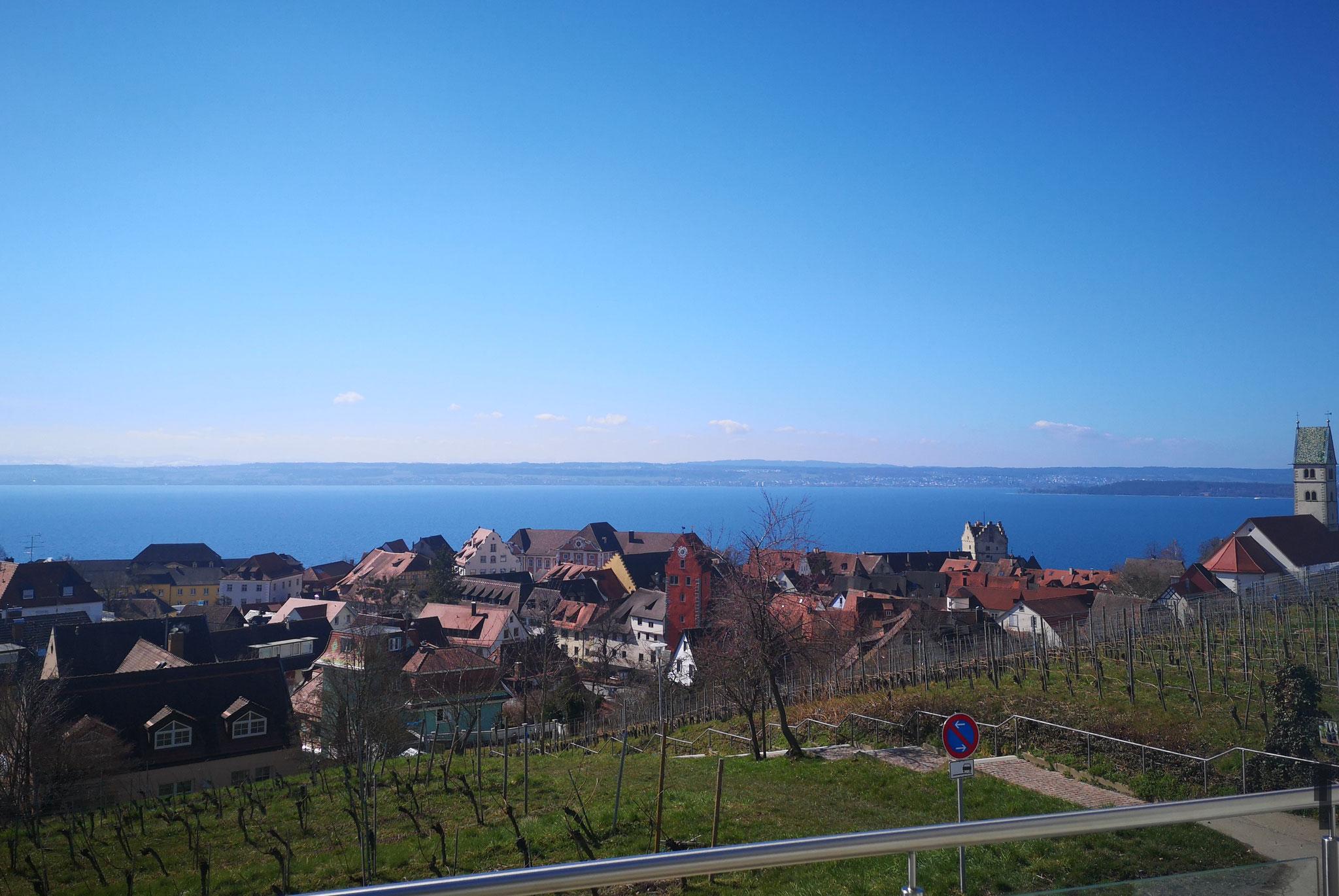 toller Blick auf den Bodensee vom Balkon