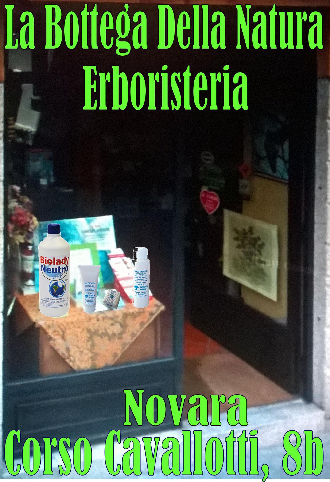 La Bottega Della Natura di Novara, Rinnova..... il Gradito Ordine, Della Gamma