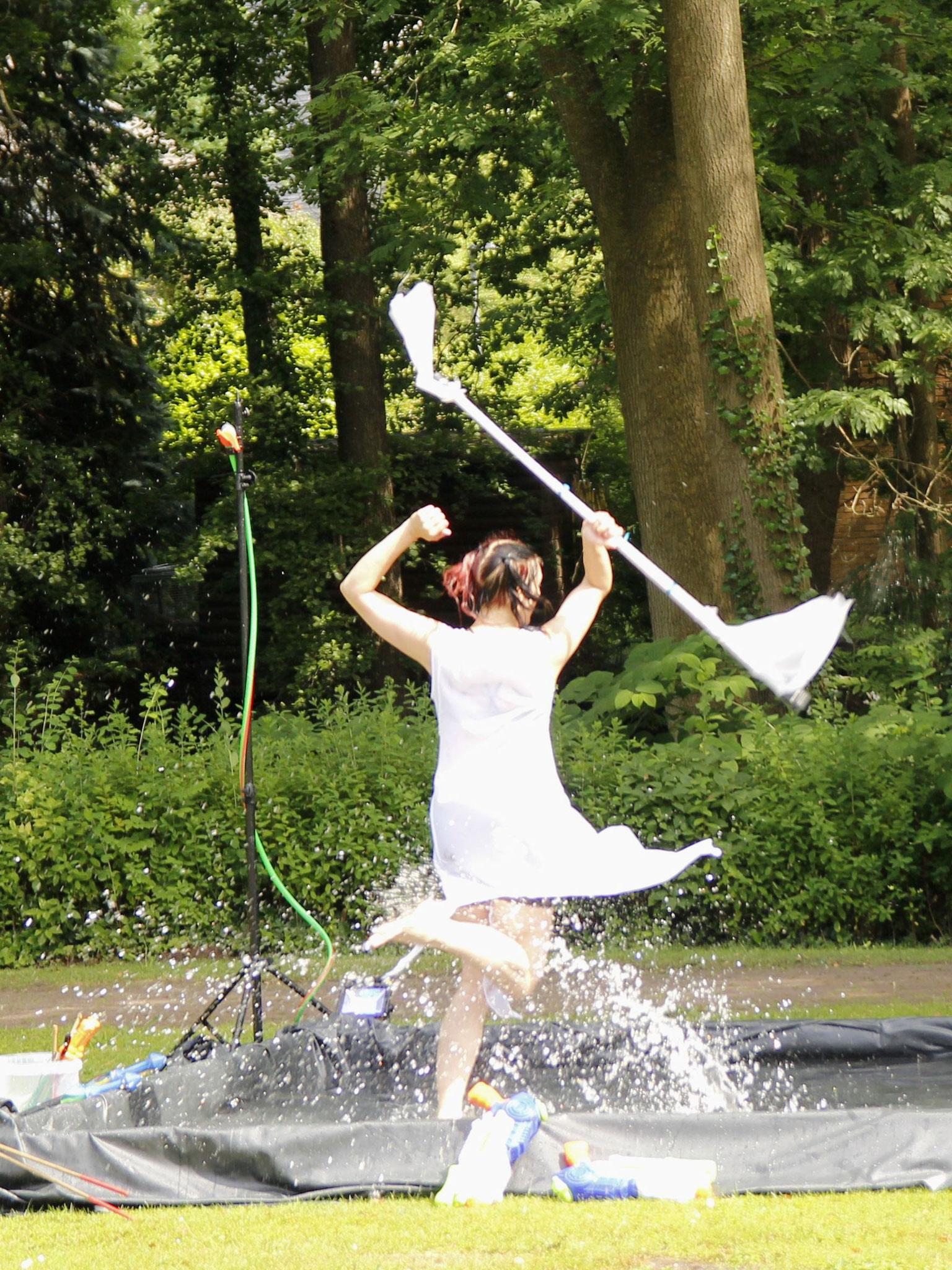 Sommerfest mit Wasserspielen |Foto: Verwünscht Photografie