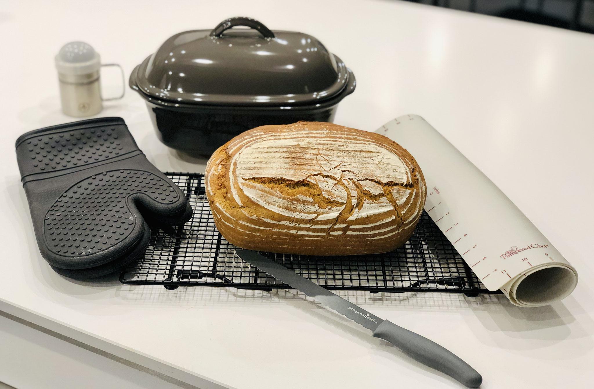 Nach dem backen sieht mein Brot so aus ♥ ♥ ♥