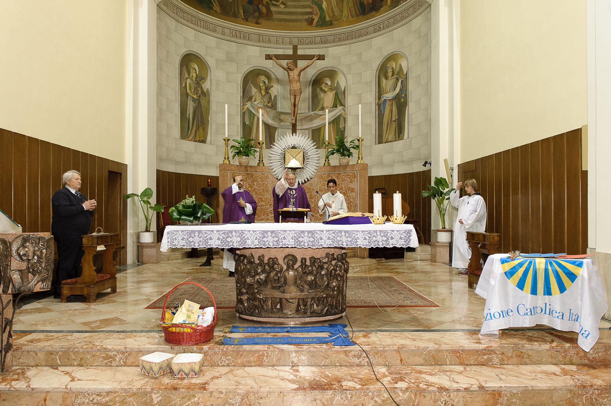 Celebrazione eucaristica per i 100 anni - 09.03.2013
