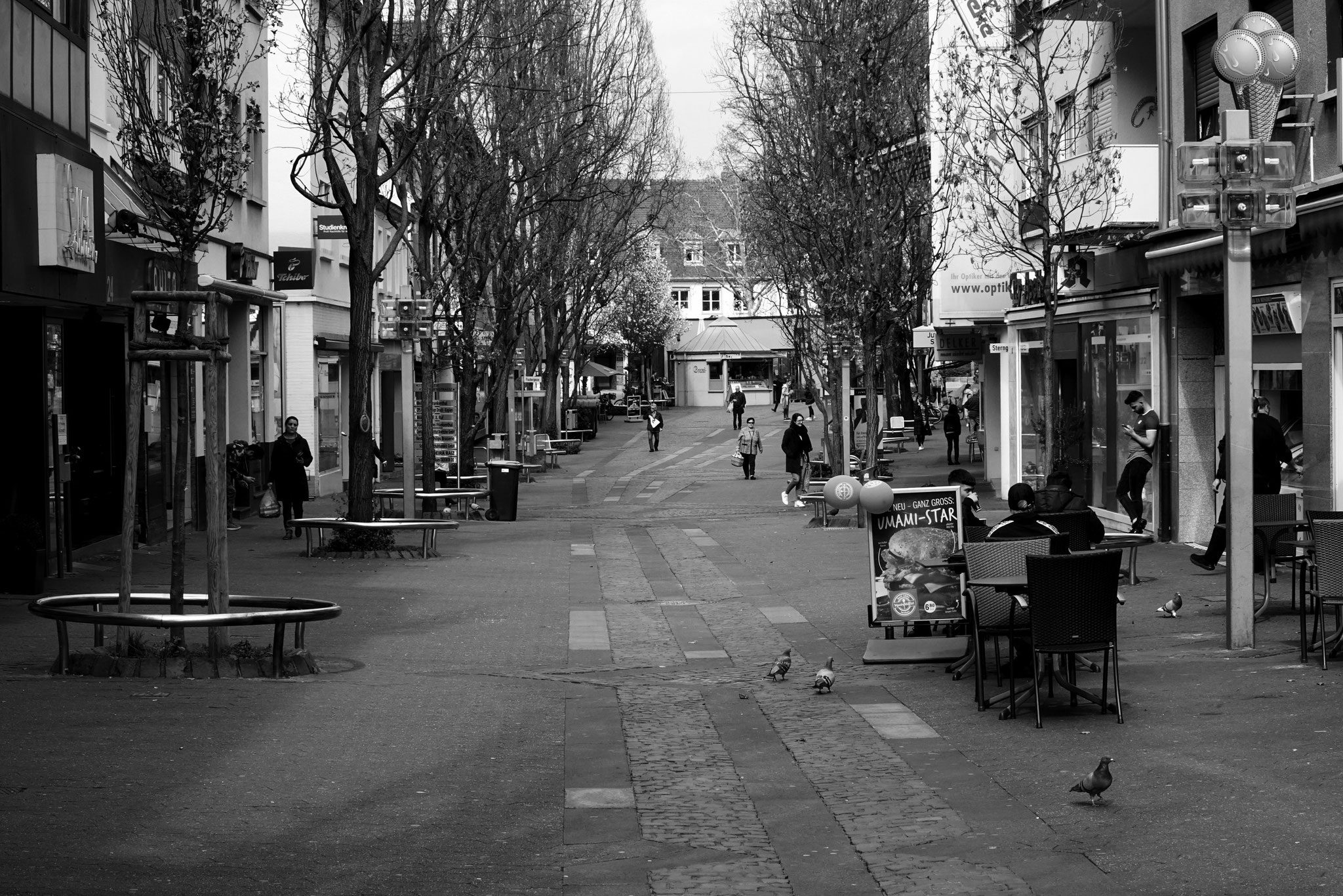 18.3.2020 | FT | Speyerer Straße | leere Fußgängerzone (13.10 Uhr)