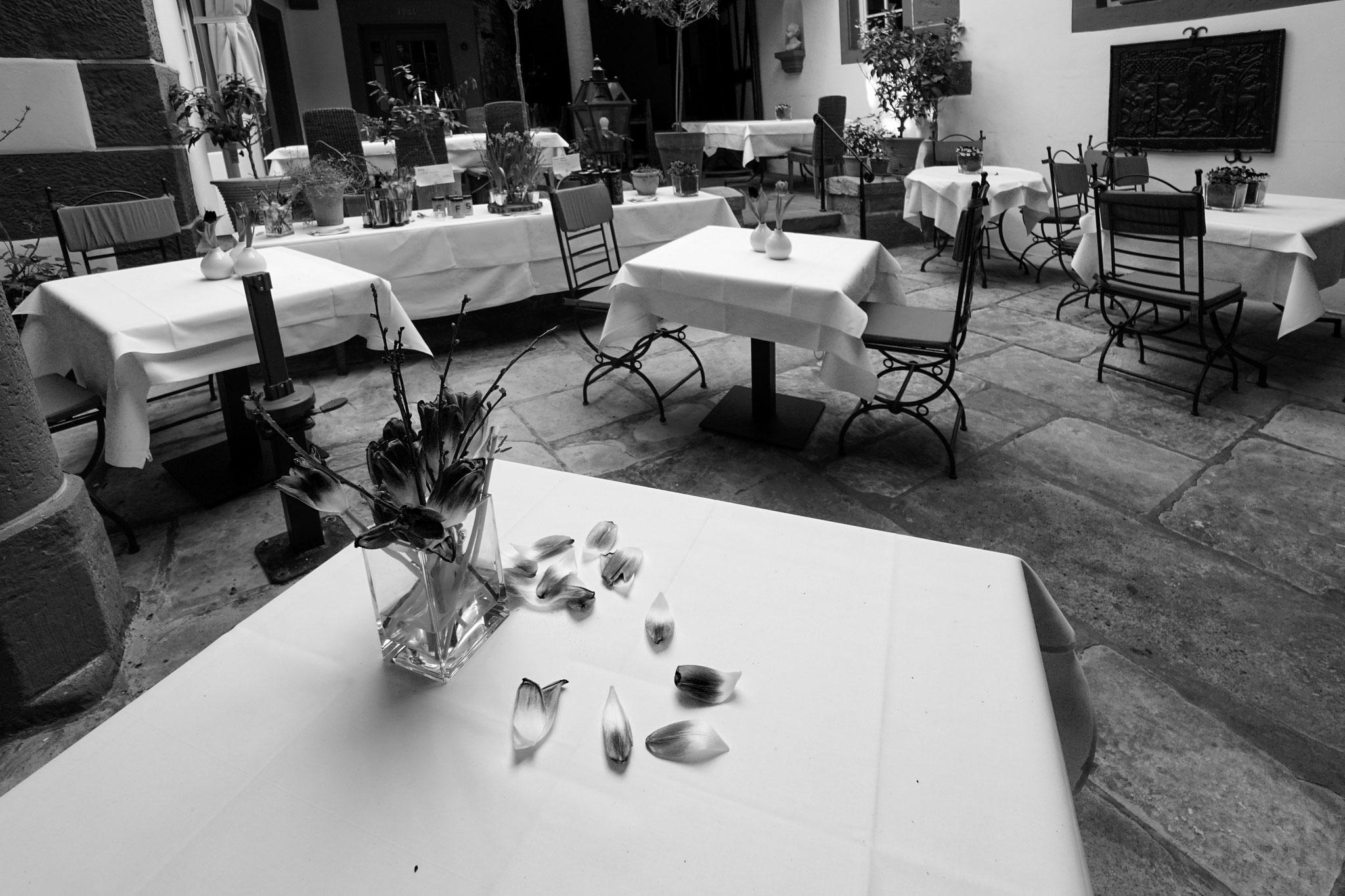 24.3.2020 | Großkarlbach | Restaurant Karlbacher |leere Tische