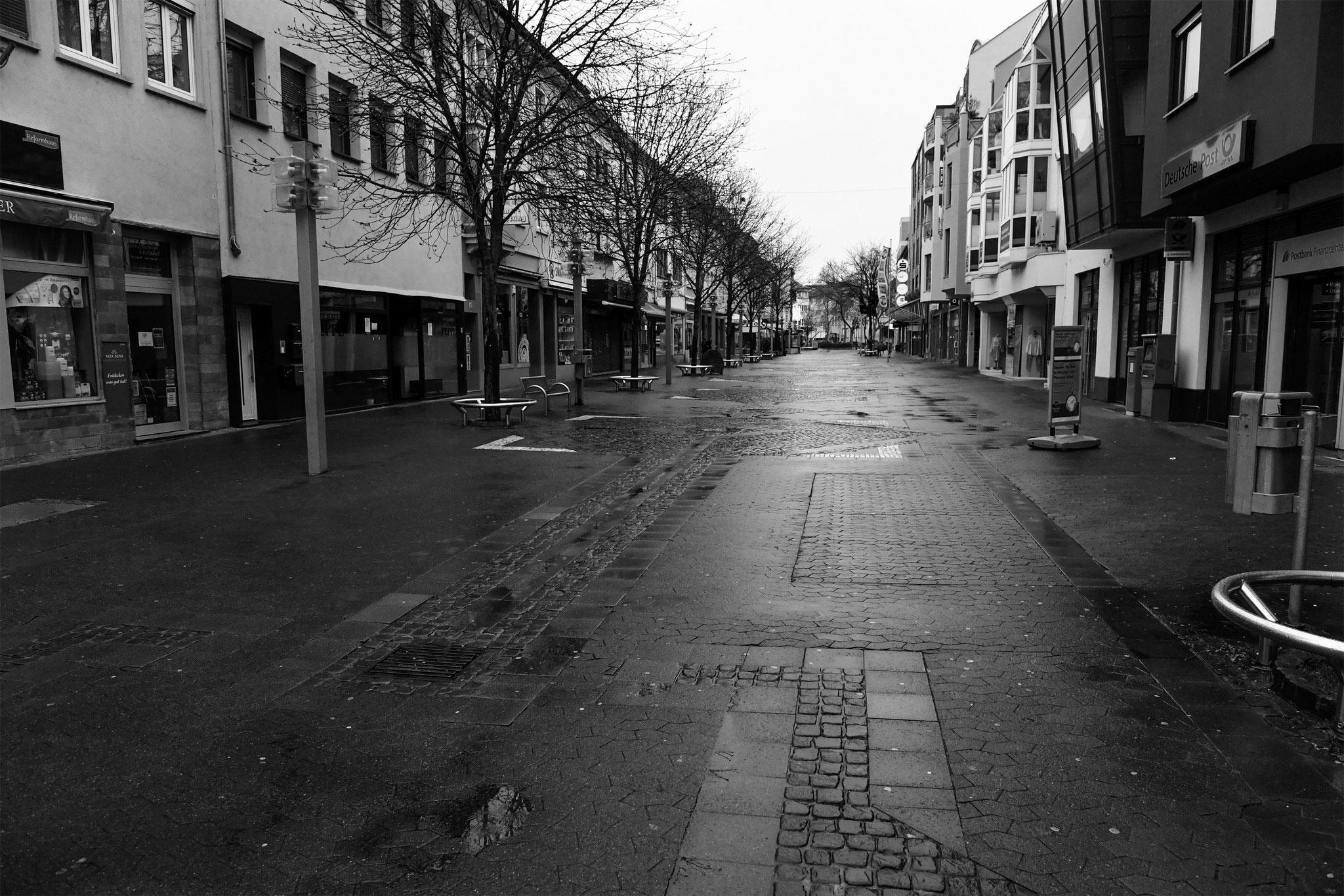 21.3.2020 | FT | Bahnhofstraße | leere Fußgängerzone (10.50 Uhr)