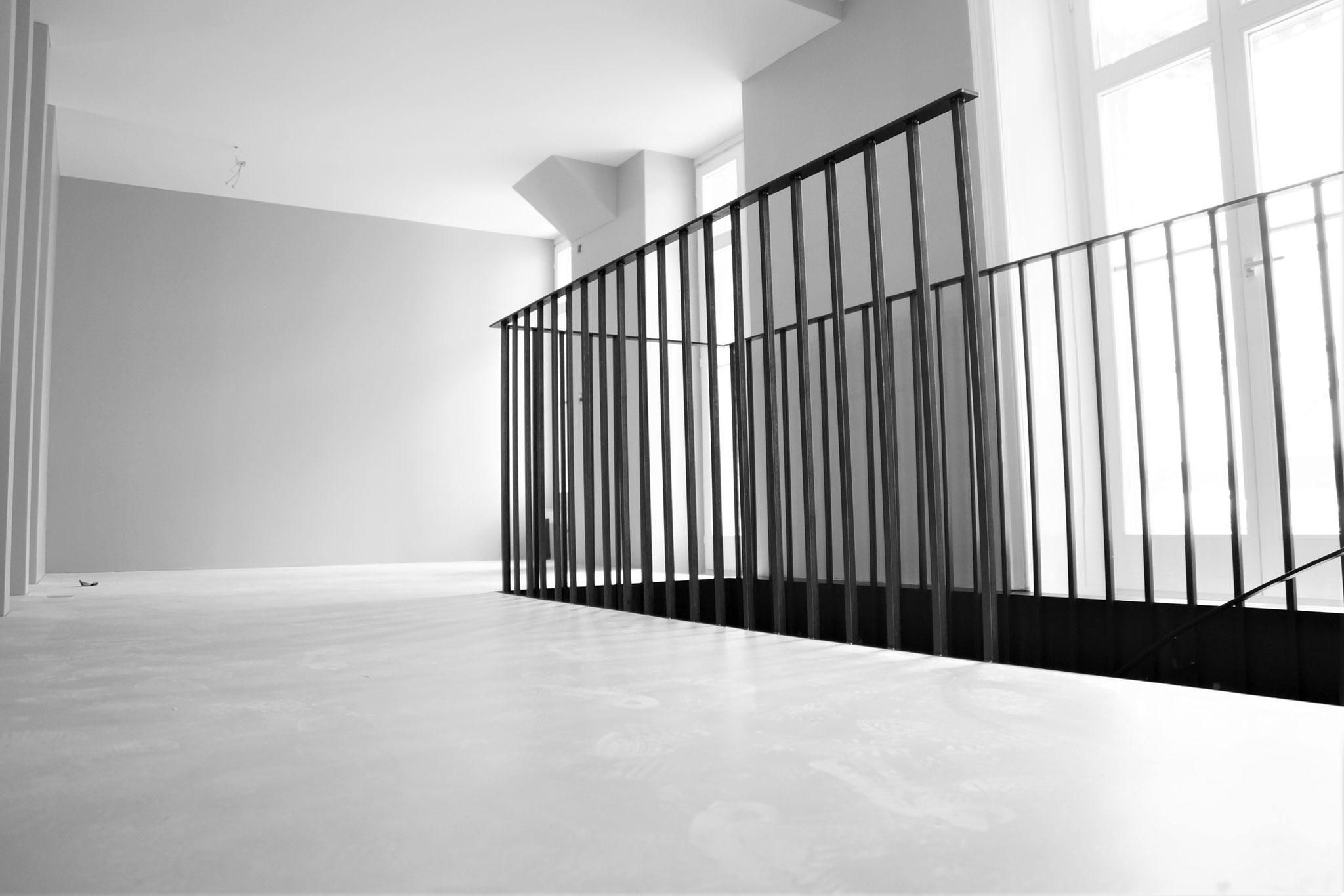 Treppengeländer in Ladenraum Luzern