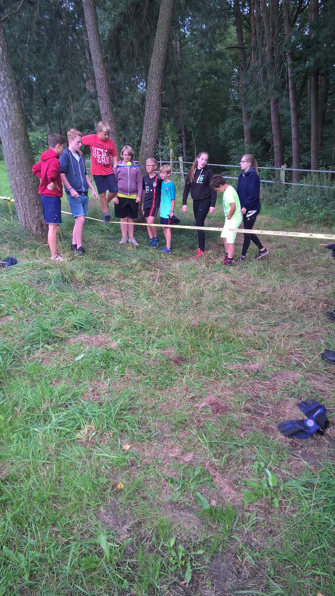 Spiel ohne Grenzen Zeltlager