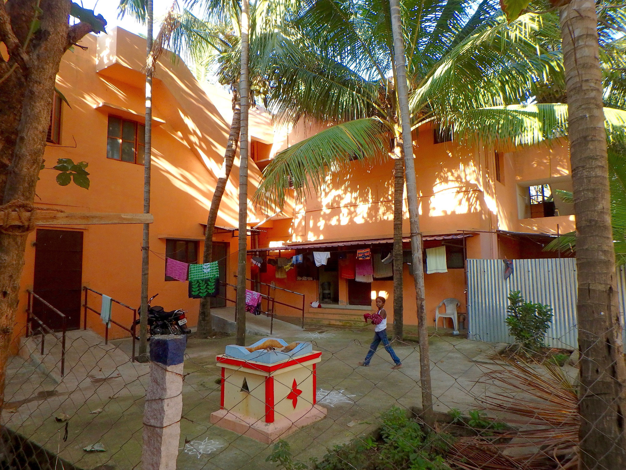 Boys' Hostel backside