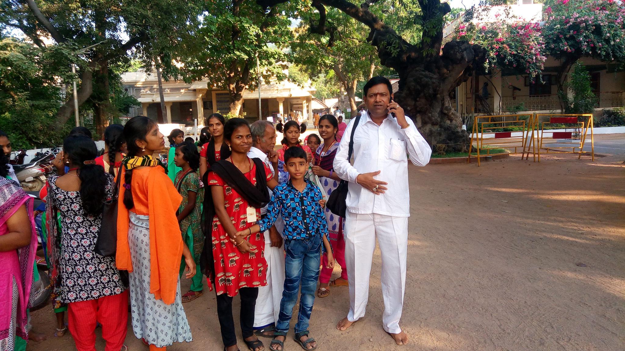 """At """"Ramanashram"""" in Tiruvannamalai"""