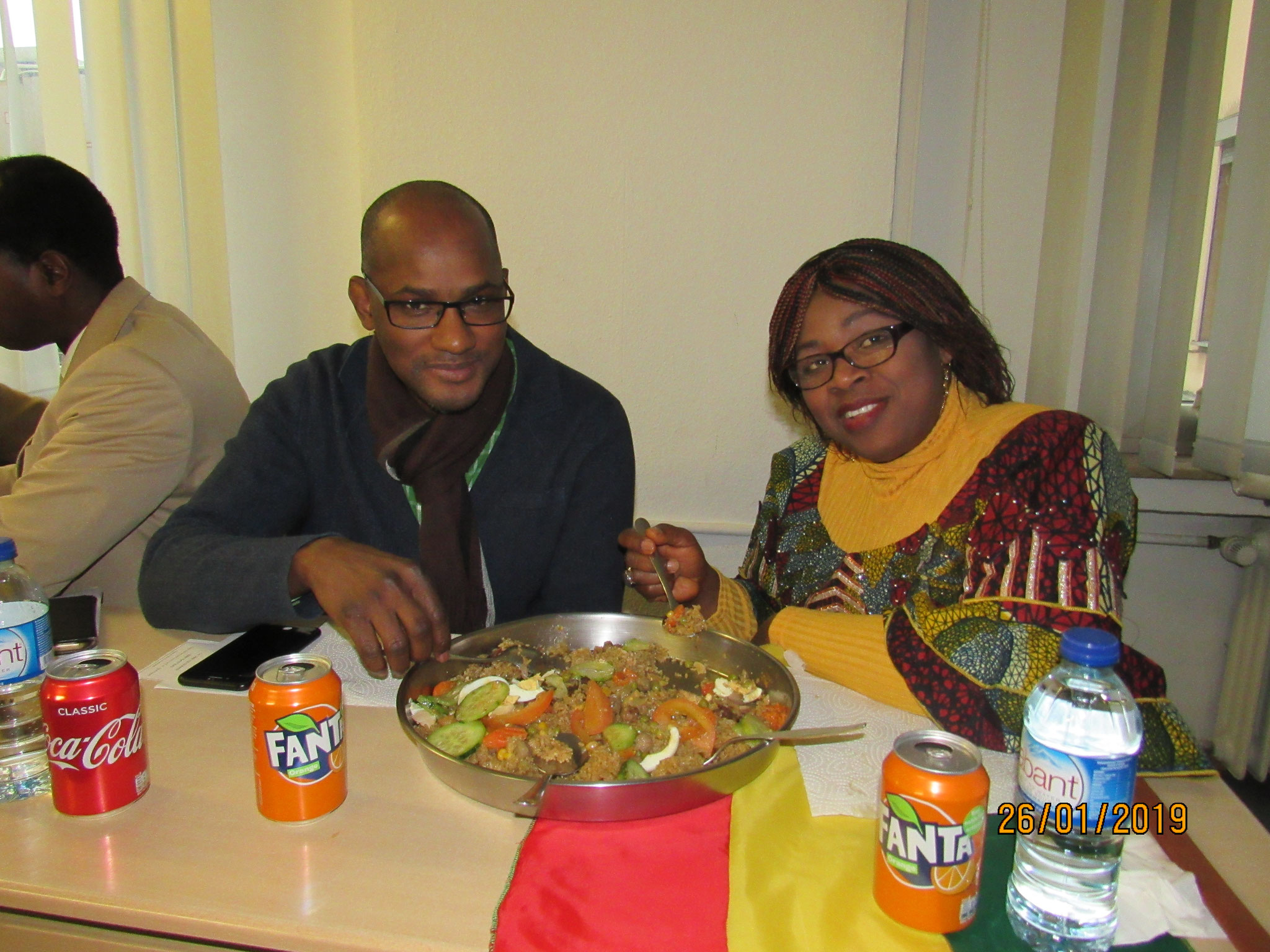 MB. BARRY & Mme KABA