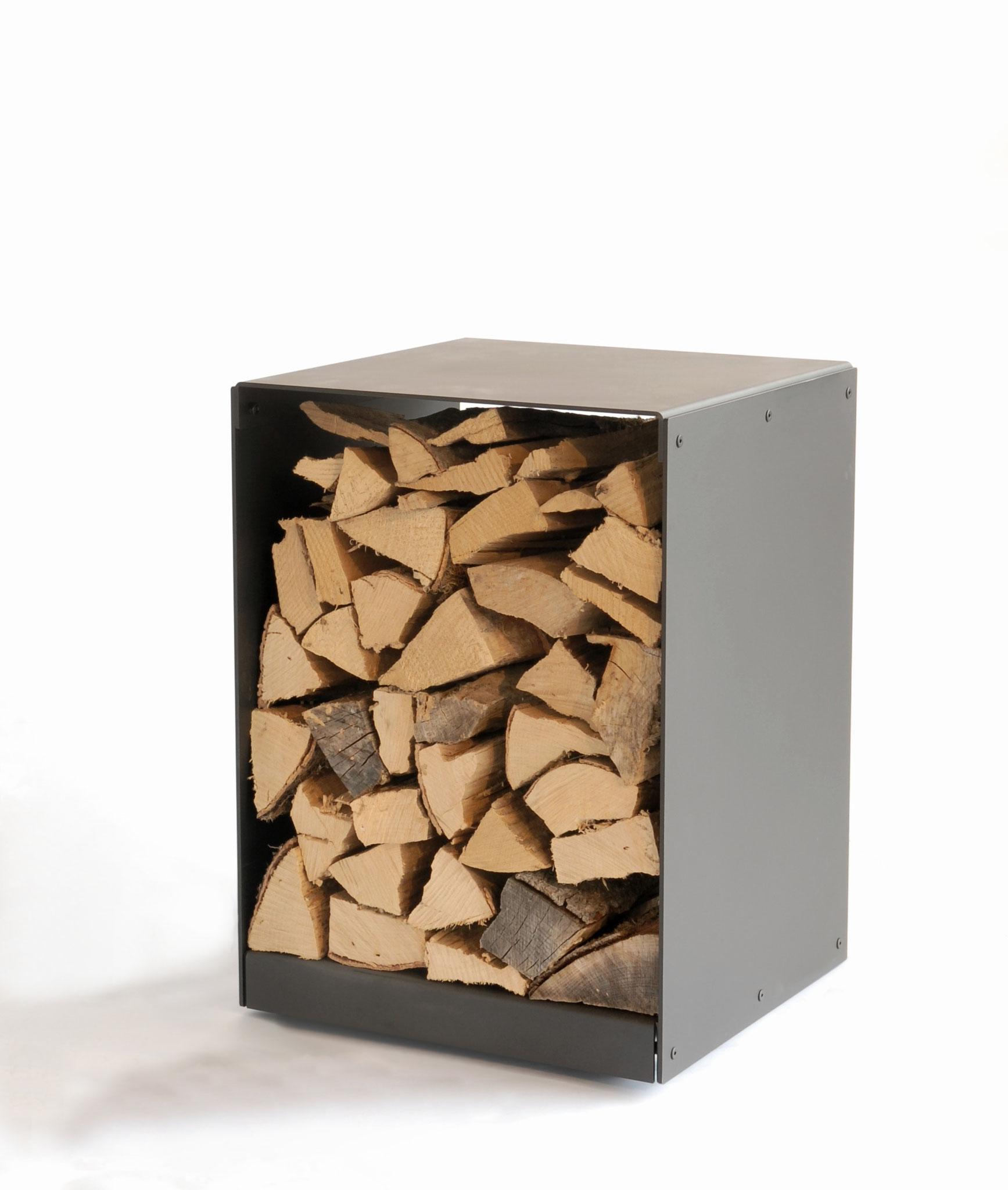 Greub Holzbox klein mit Rollen