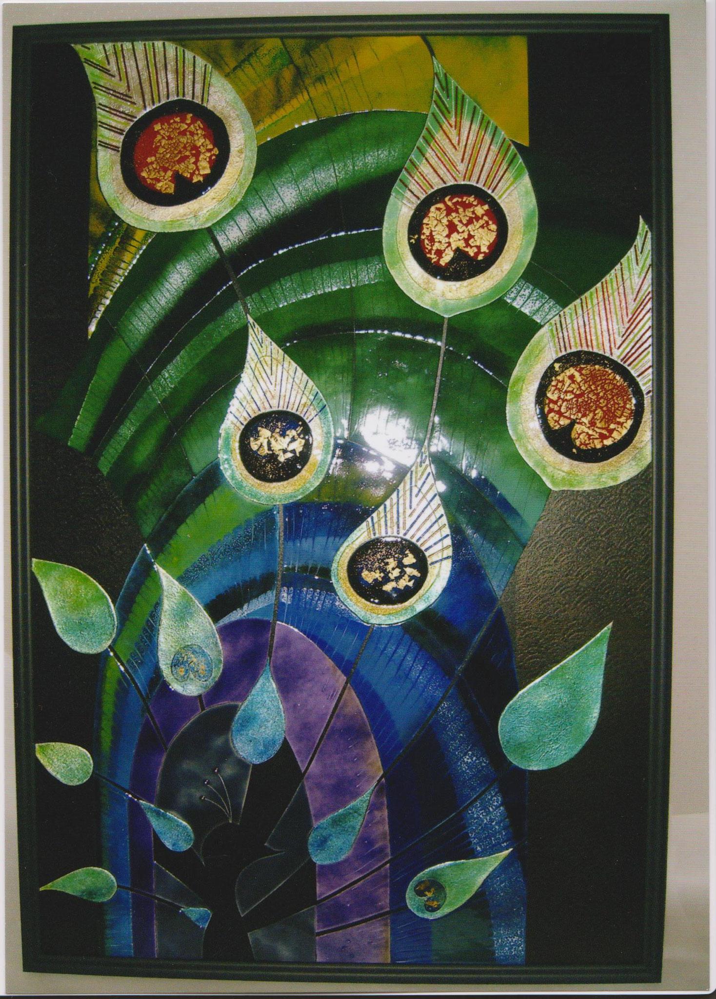 第55回 日本現代工芸美術展 作品 『暗闇のディスプレイ』