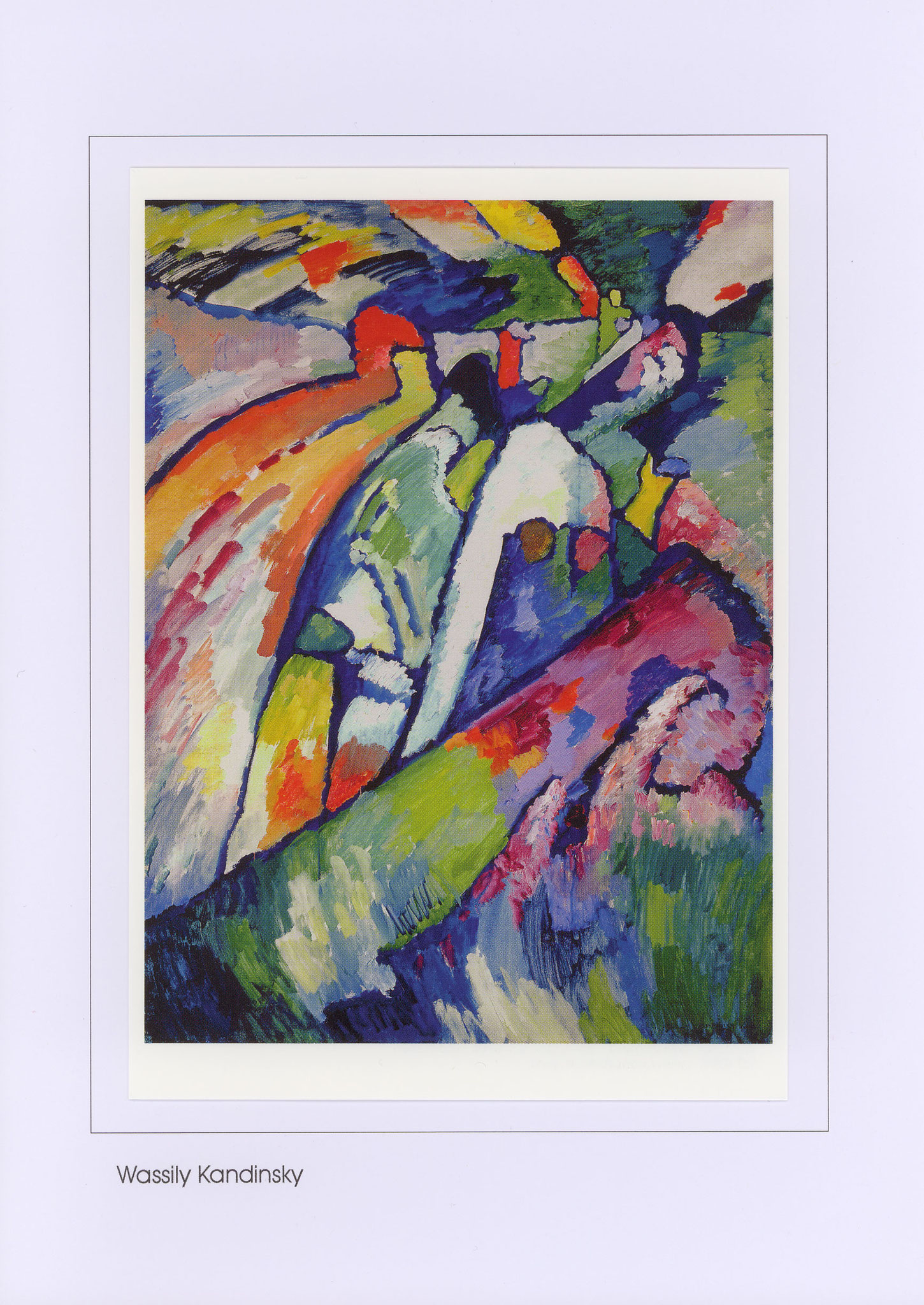 Nr. 0/110 Wassily Kandinsky, Improvisation 7 (Sturm), 1910
