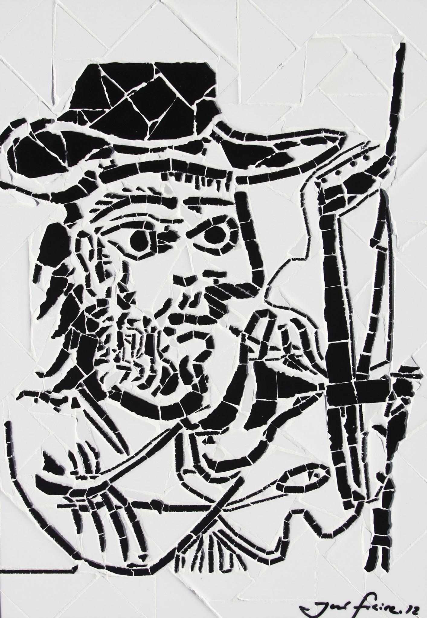 """""""O Pintor"""" - 43x33 cm"""