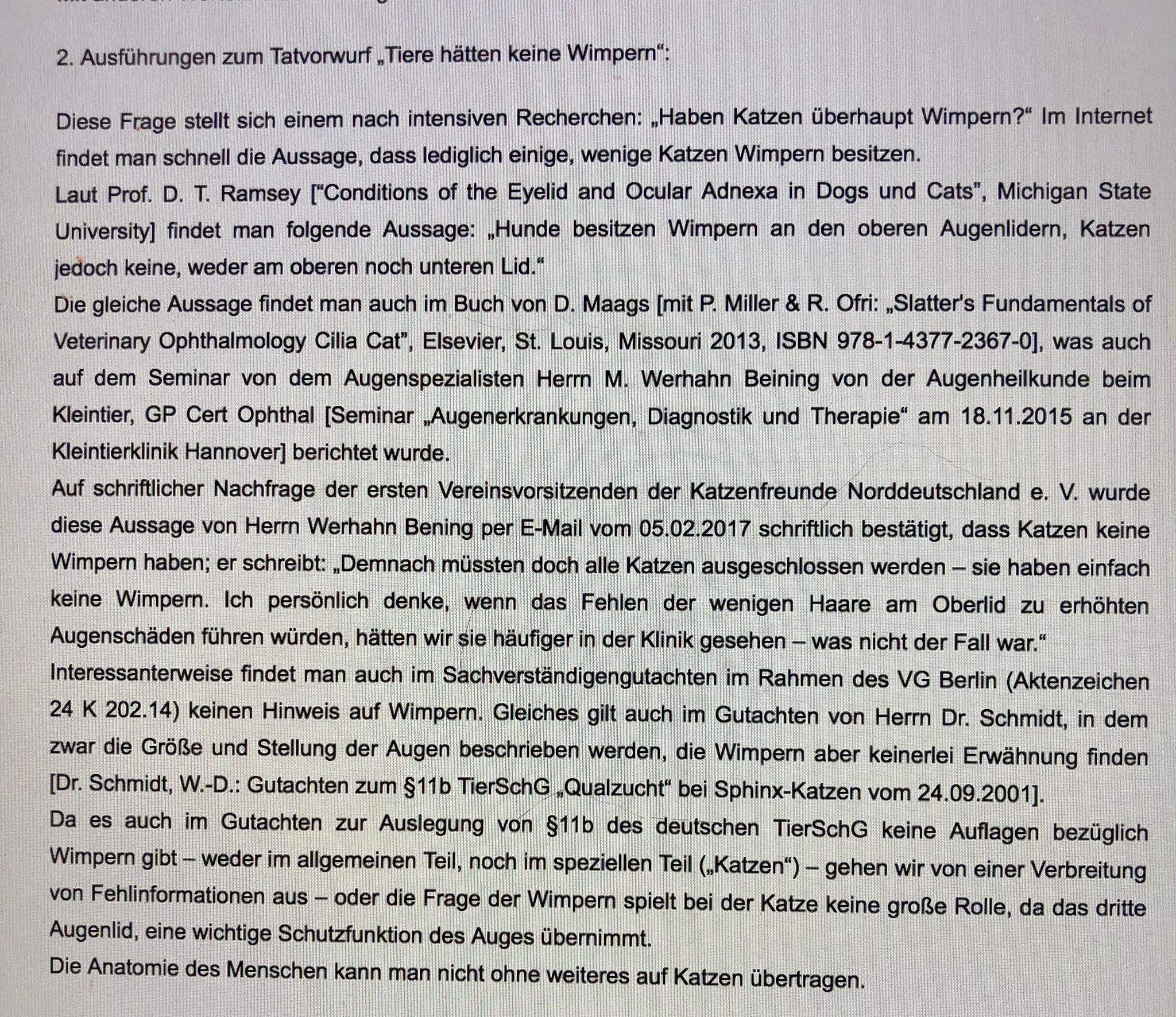 Screenhot https://www.mcc-cats.de/news/zuechter-szene.html, abgerufen am 09/05/2018, Gastbeitrag von Christoph Riedel, www.nofretetes-katzen.de
