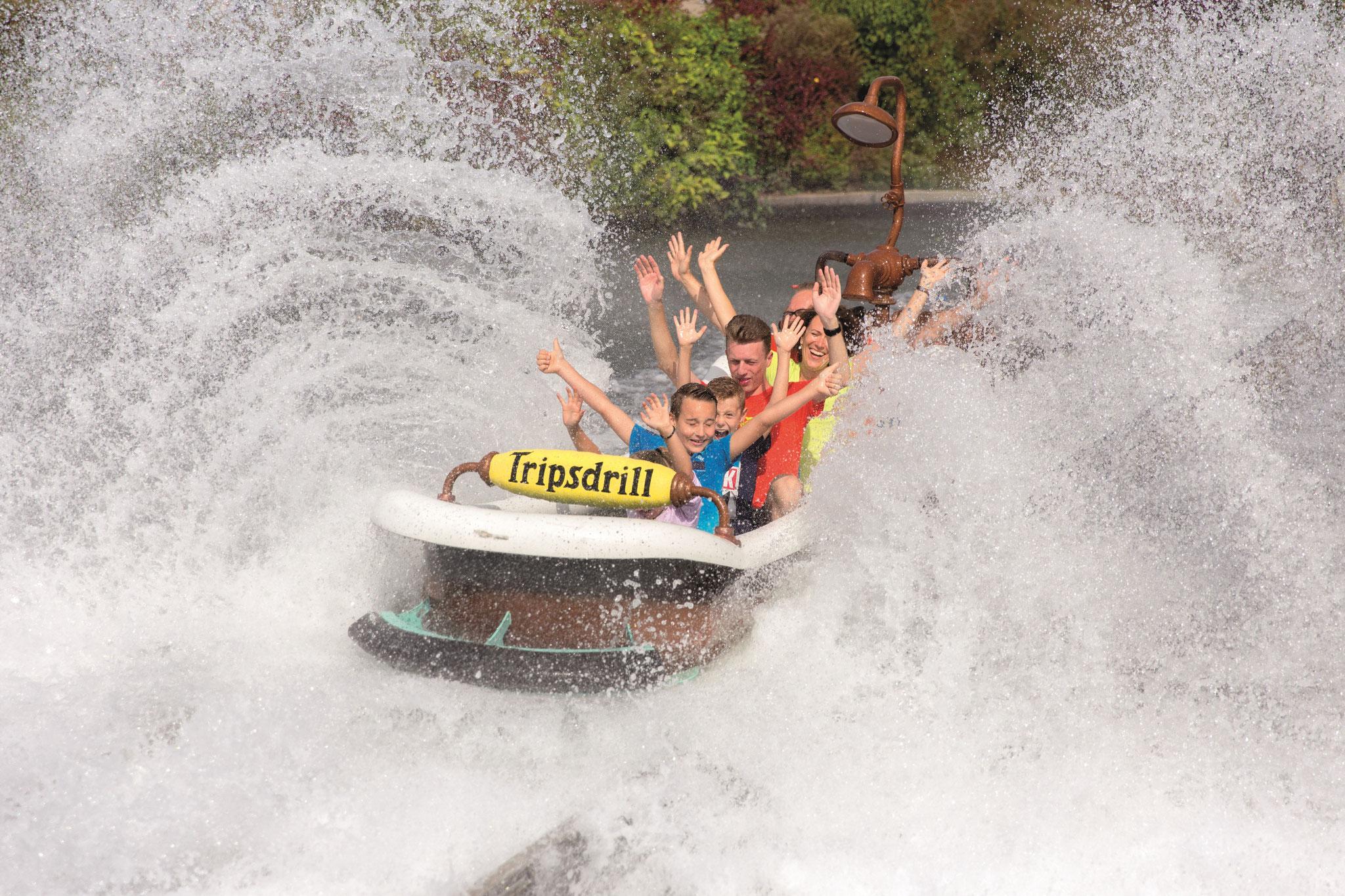 Badewannenfahrt zum Jungbrunnen - Die Wildwasser-Schussfahrt sorgt für spritziges Vergnügen