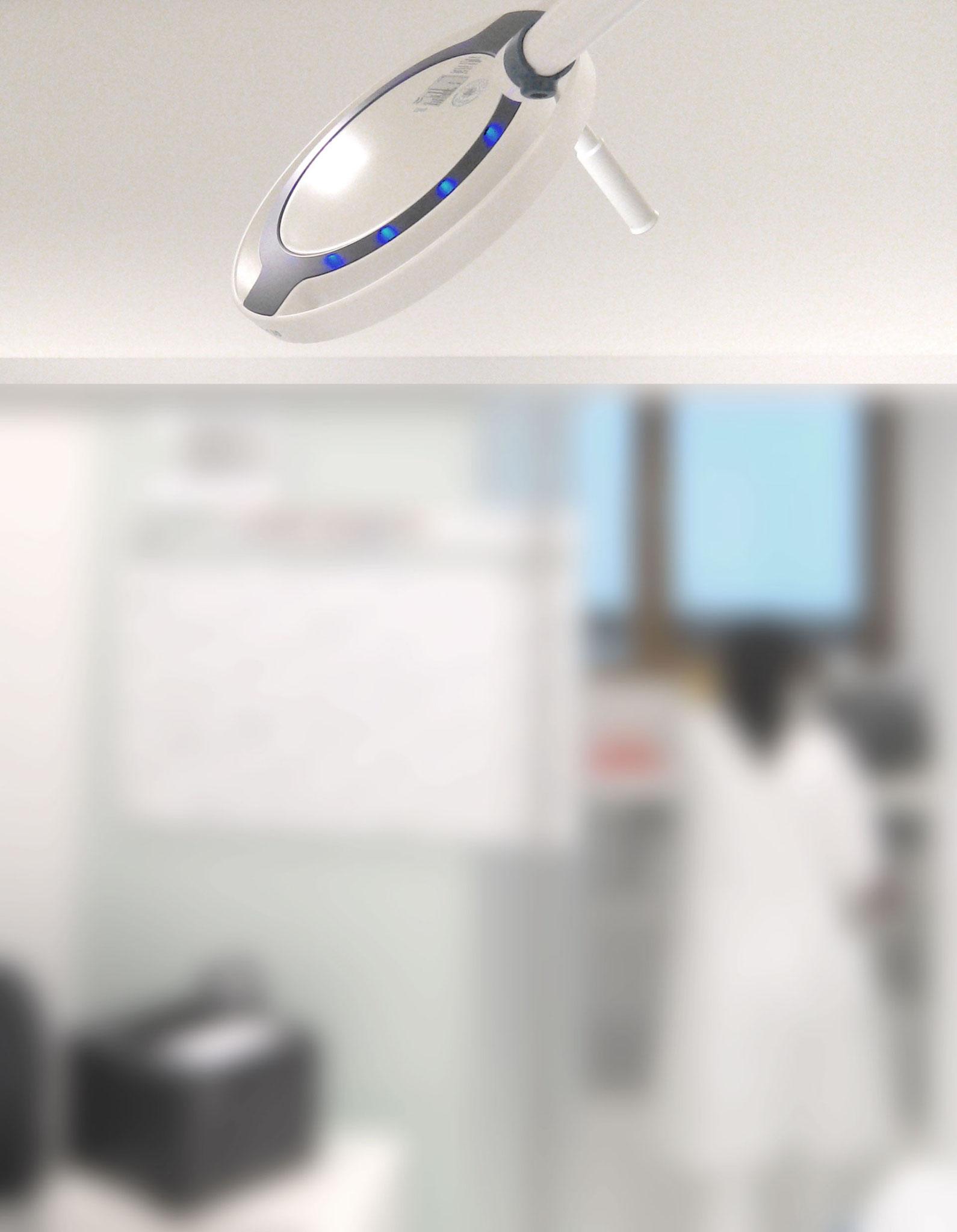 DR.MACH // Untersuchungsleuchte LED130 // Bei meiner Tätigkeit als Designer bei designaffairs Erlangen konnte ich für die Firma DR.MACH diese Neuentwicklung gestalten.