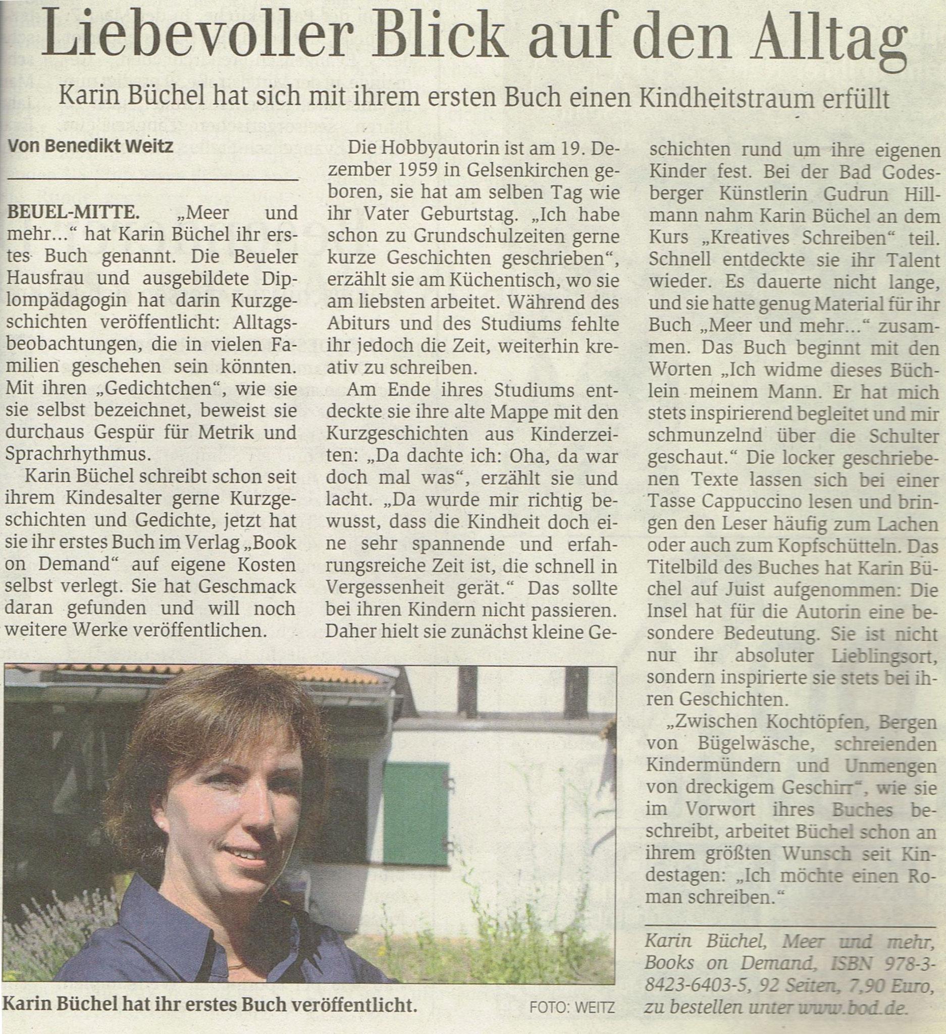 Generalanzeiger, 13. August 2011