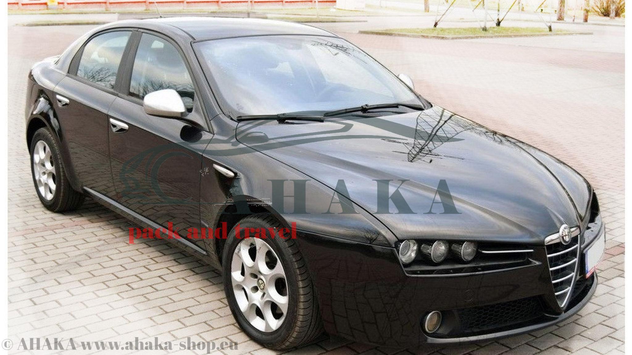 Horizontal Abnehmbar Anhängerkupplung für Alfa Romeo GT Coupe ab 2004 13pol