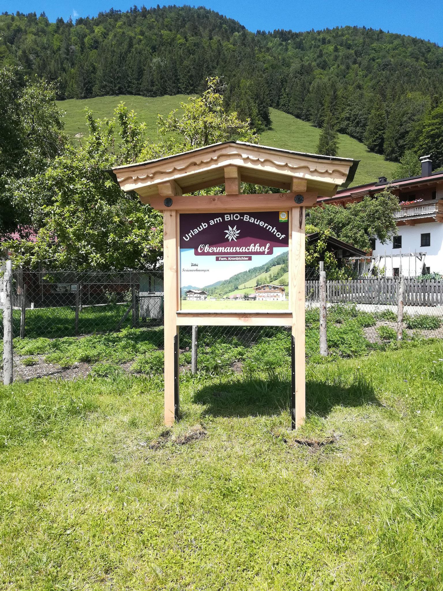 Willkommen bei uns am Obermaurachhof