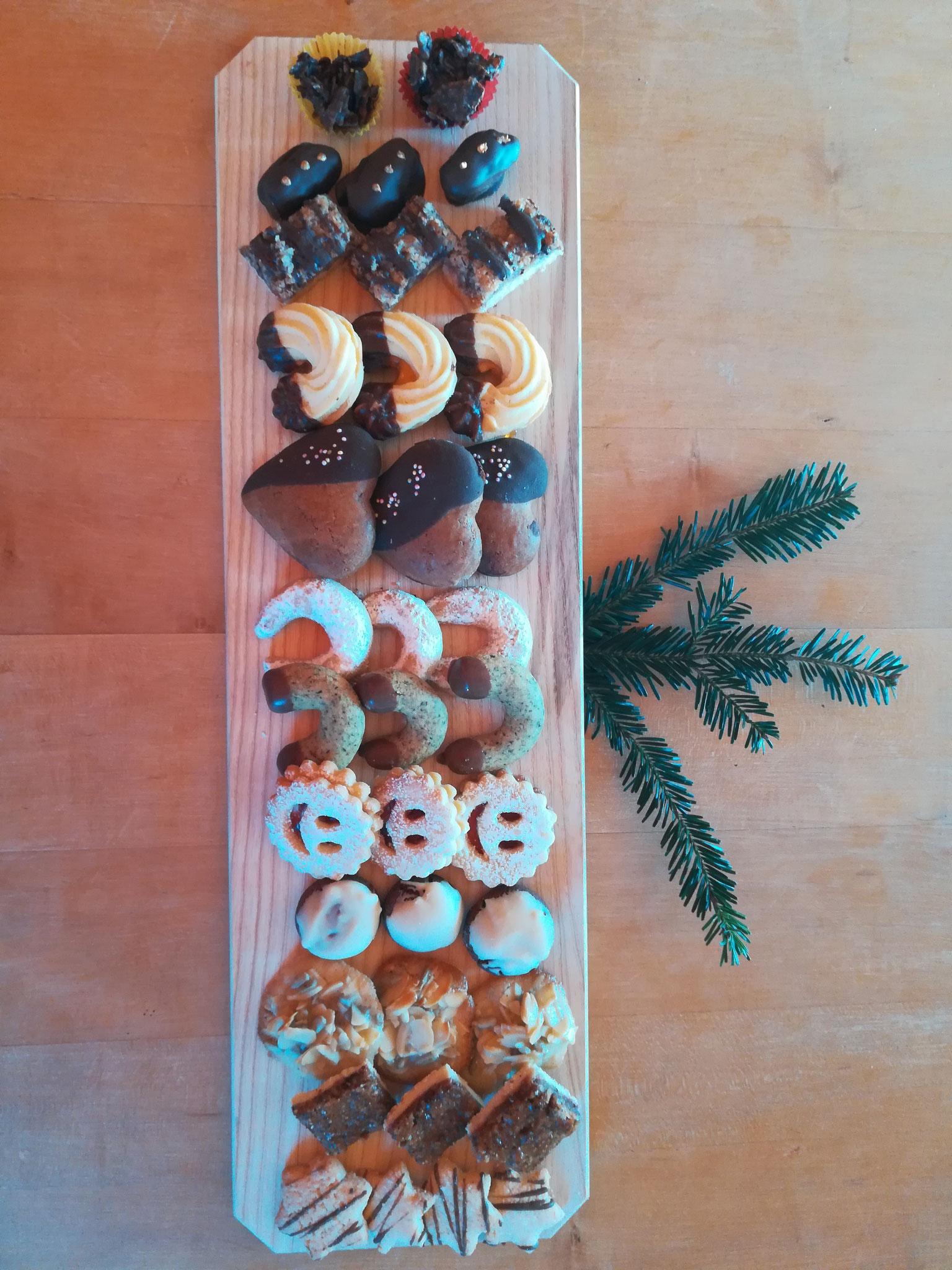 Kekse backen für Weihnachten