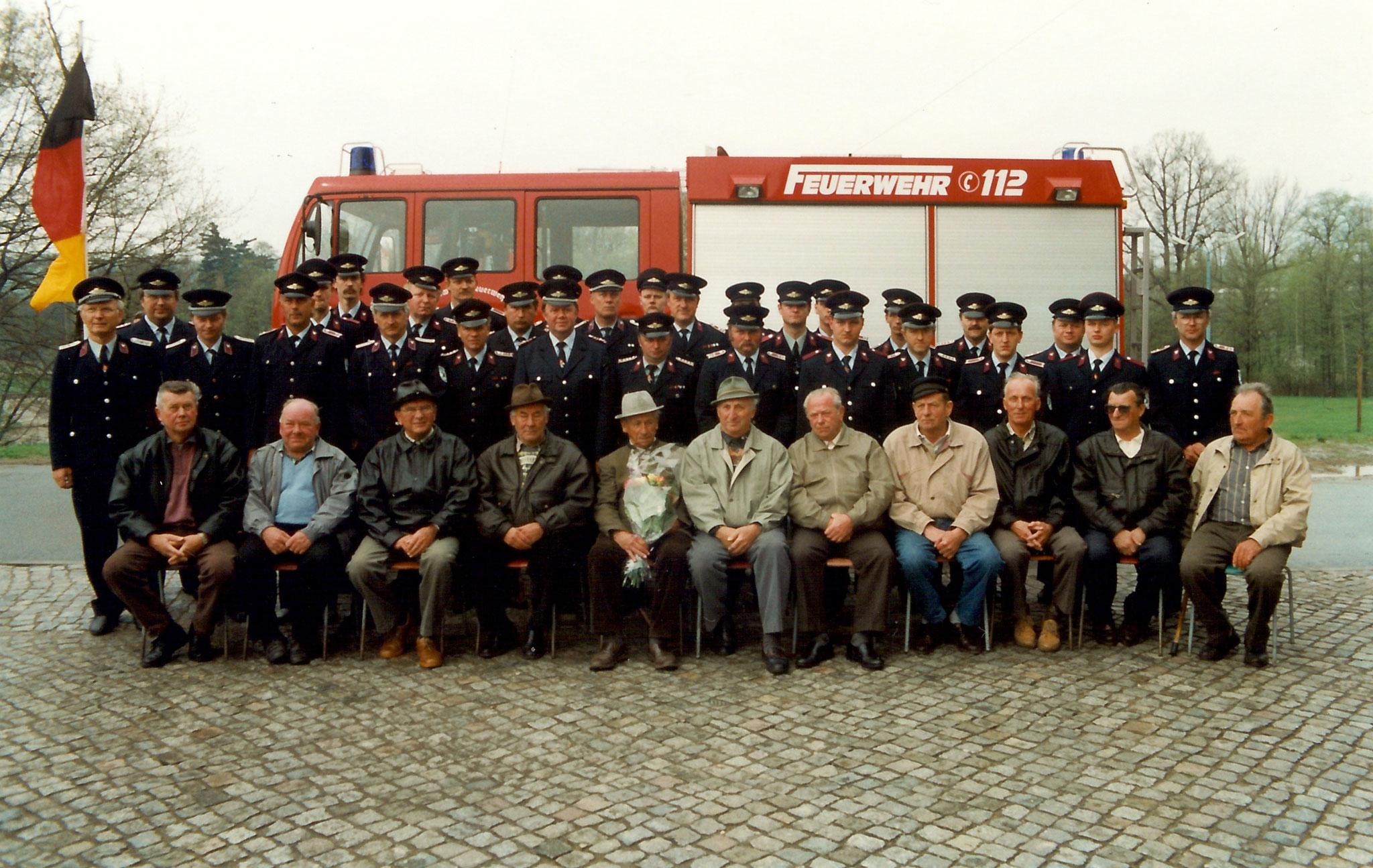 125 jähriges Jubiläum / Fahrzeugübergabe LF8/6