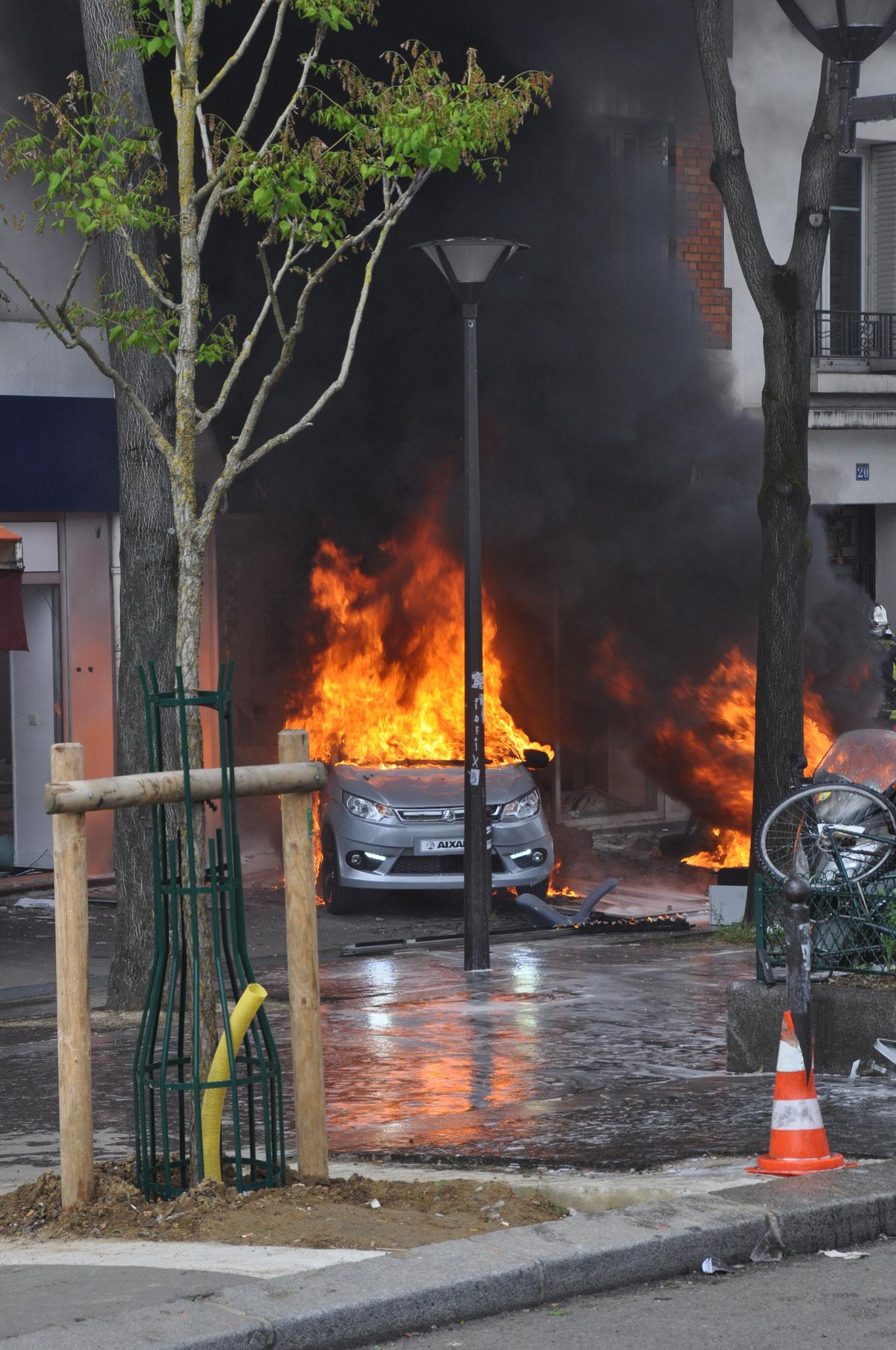 1er mai 2018 - Paris. Crédit : Jean-Luc Beaud