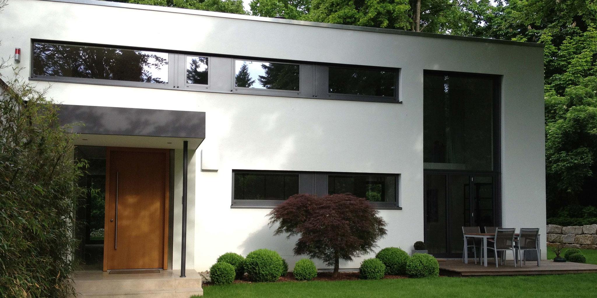 Architekten Frankfurt – Umbau Einfamilienhaus, energetische Sanierung in Bad-Homburg, Architekturbüro Frick.Reichert Architekten