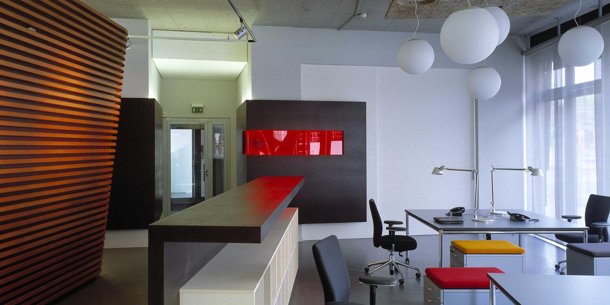 Umbau und Neugestaltung Bürofläche für Publicis – Frankfurt Sachsenhausen, Frick.Reichert Architekten