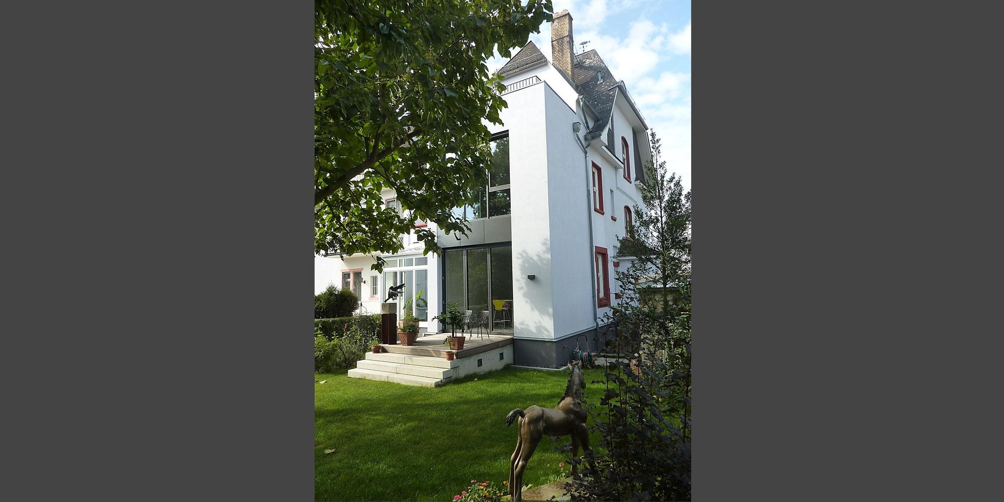 Um- und Anbau Wohnhaus – Frankfurt Preungesheim, Frick.Reichert Architekten