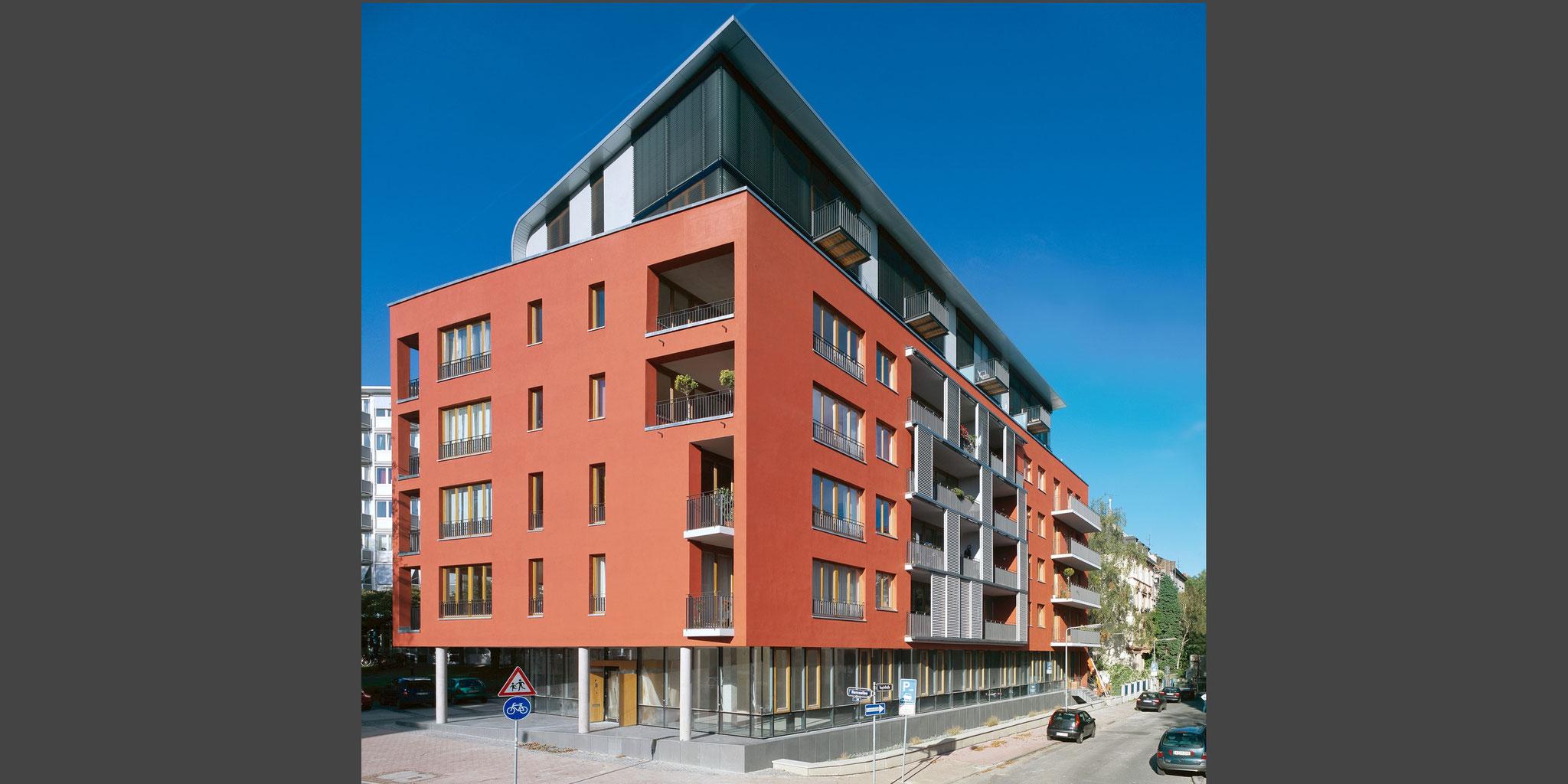 Neubau Wohn- und Bürohaus – Frankfurt am Main Westend, Frick.Reichert Architekten