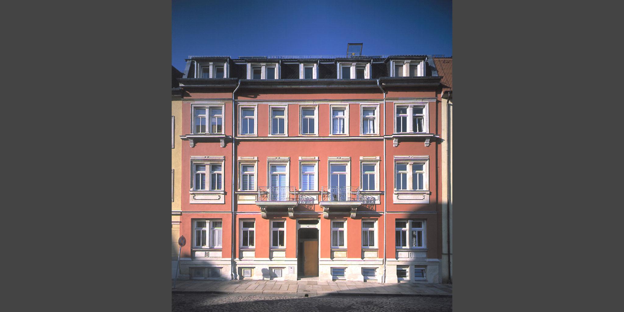 Architekten Frankfurt – Sanierung und Umbau Altbau Wohnhaus in Dresden, Architekturbüro Frick.Reichert Architekten