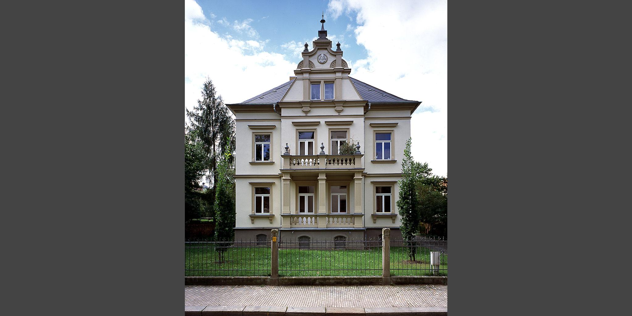Architekten Frankfurt – Sanierung und Umbau Stadtvilla in Dresden, Architekturbüro Frick.Reichert Architekten