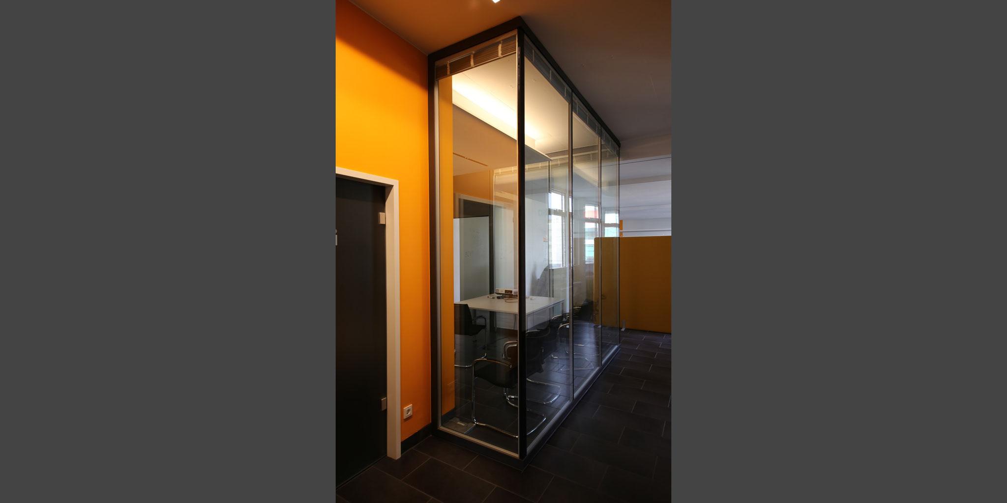 Um- und Ausbau von Büroräumen für SALT Solutions – Würzburg, Frick.Reichert Architekten