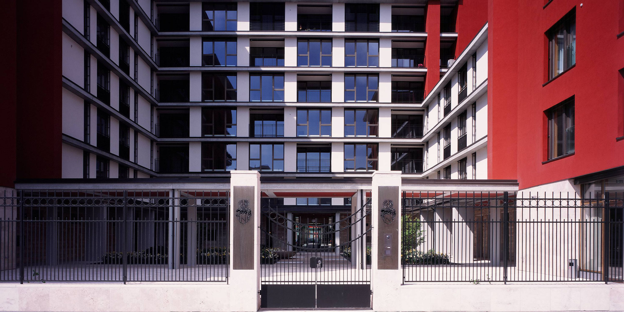 Architekten Frankfurt - Neubau Wohngebäude für Senioren, Cronstettenhaus in Frankfurt Westhafen, Architekturbüro Frick.Reichert Architekten