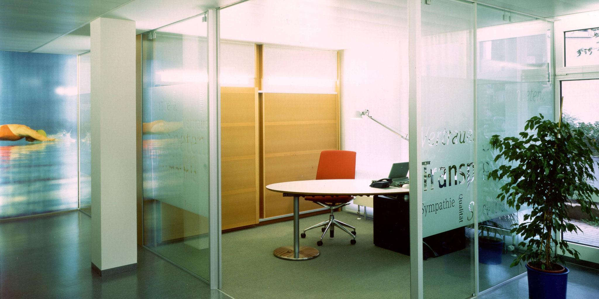 """Architekten Frankfurt - """"Allianz 2000"""" Corporate Design Konzept für ca. 14.000 Agenturbüros, Architekturbüro Frick.Reichert Architekten"""