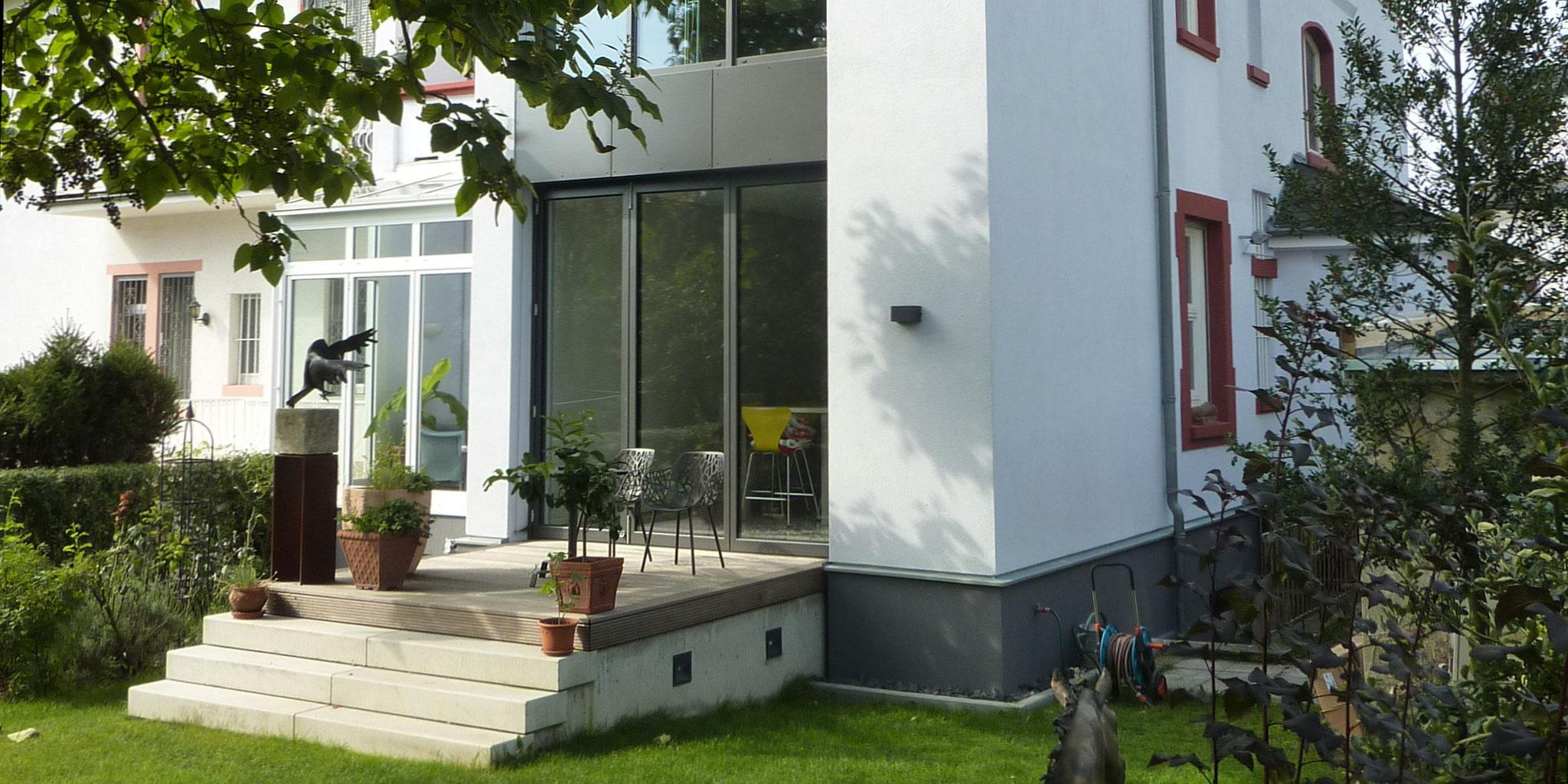 Architekten Frankfurt – Um- und Anbau Wohnhaus in Frankfurt Preungesheim, Architekturbüro Frick.Reichert Architekten
