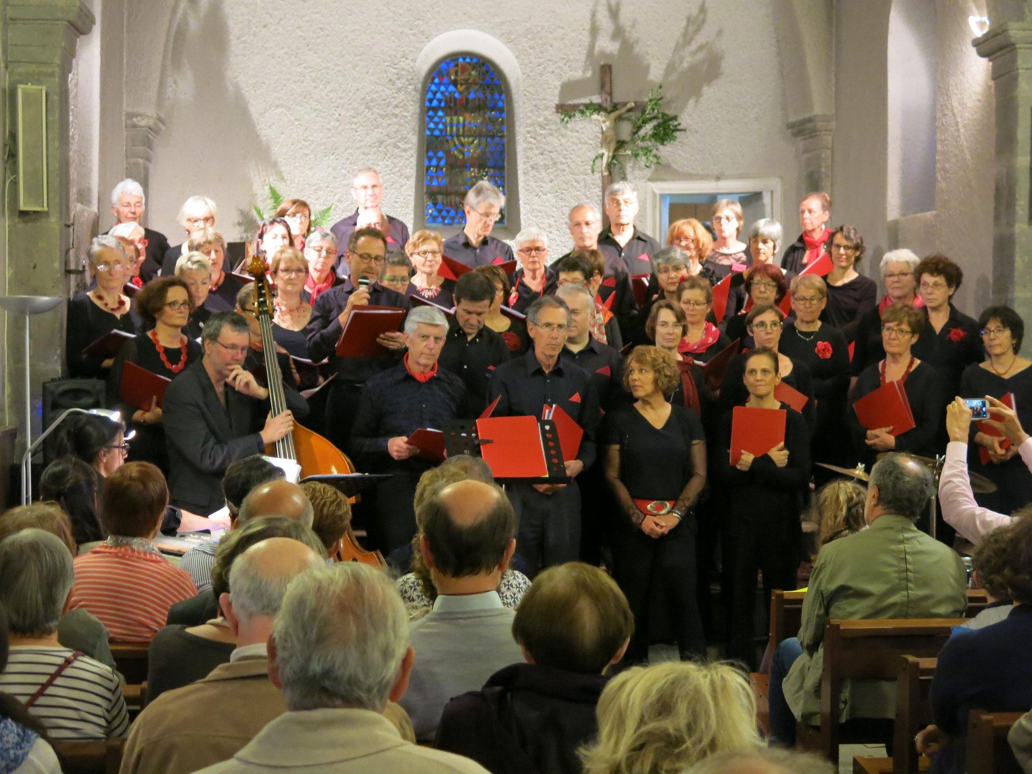 Concert en l'église de Durtol, 25 mai 2018