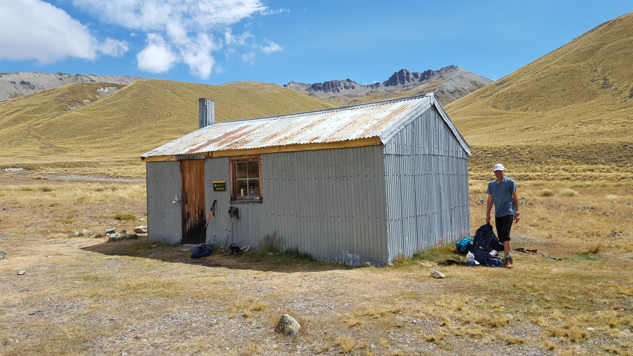 Royal Hut am Te Araroa