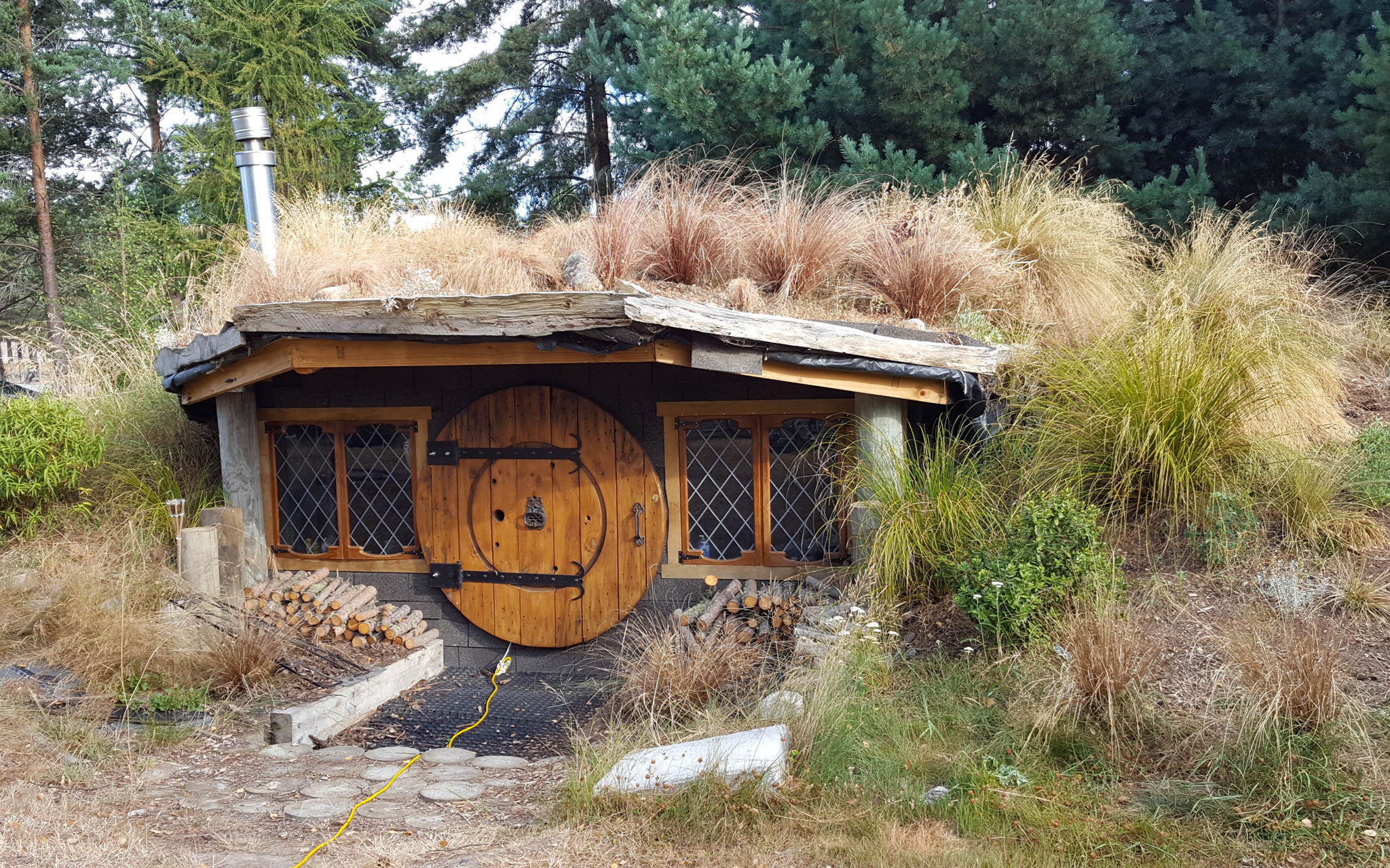 Trailangel Hobbithaus in Twizel