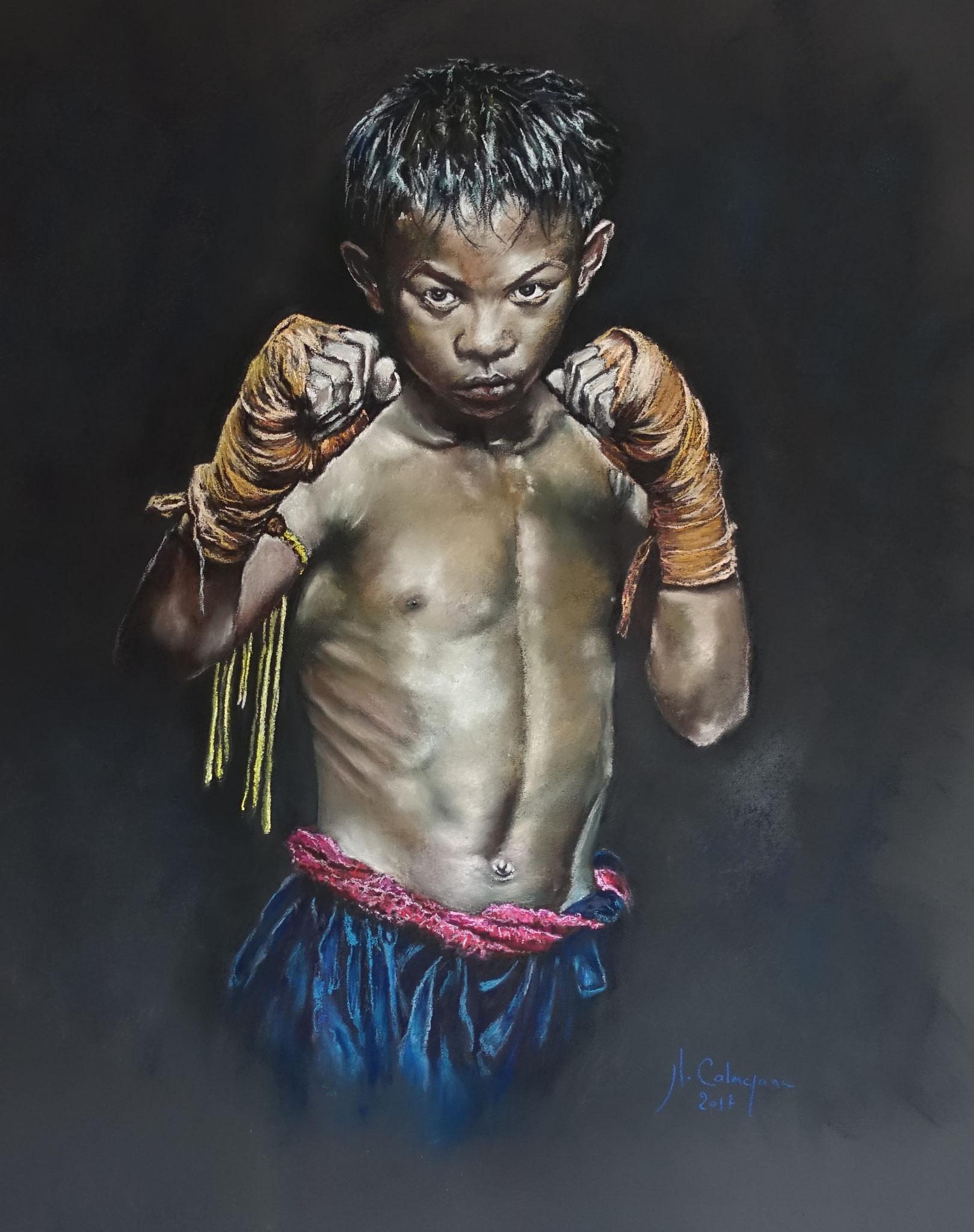 100x100 boxeur khmer ( photographie Antoine RAAB )