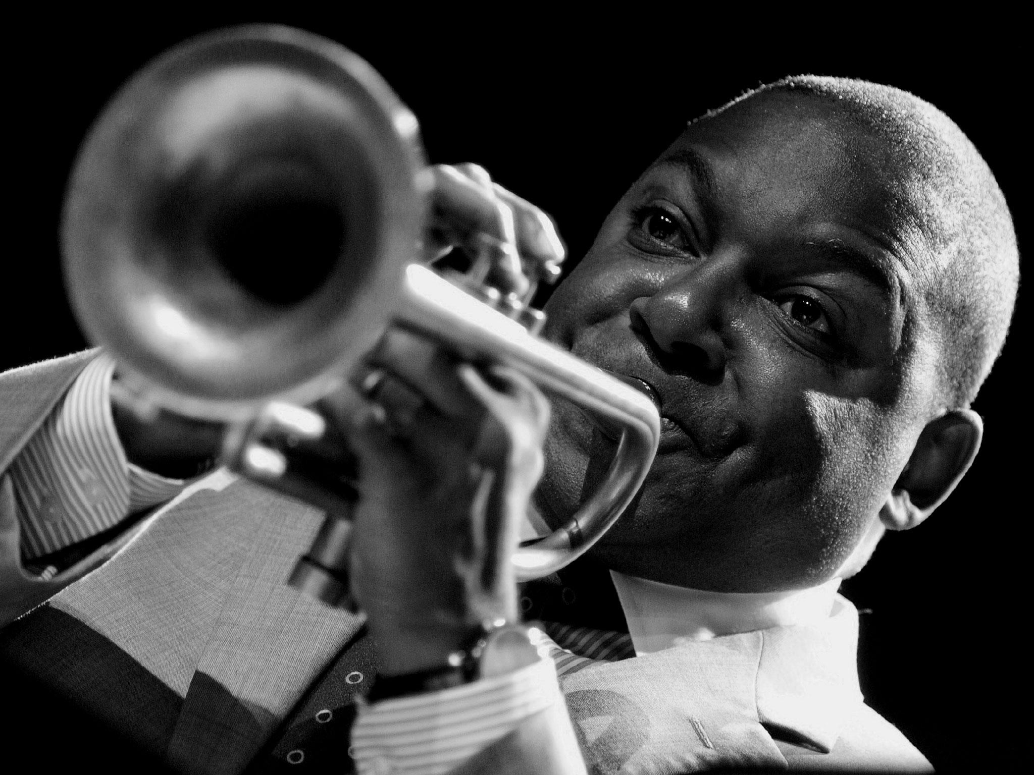 """"""" le jazz c'est la démocratie faite musique """"   Winton Marsalis (Photo F. Fourcade)"""