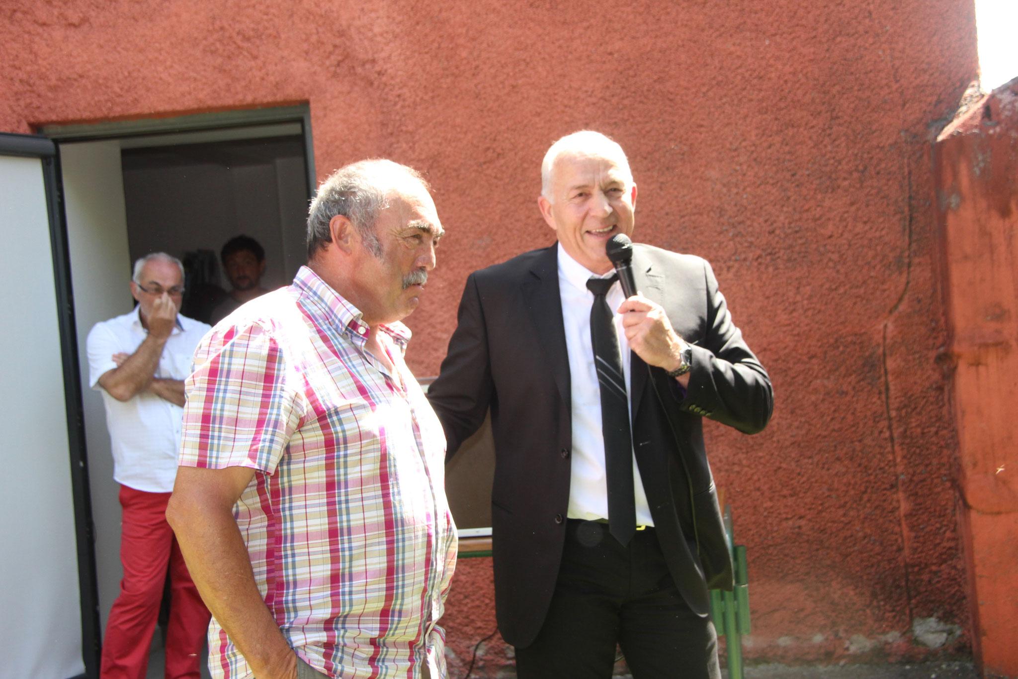 Départ à la retraite de Jean Claude BUZY, facteur du village