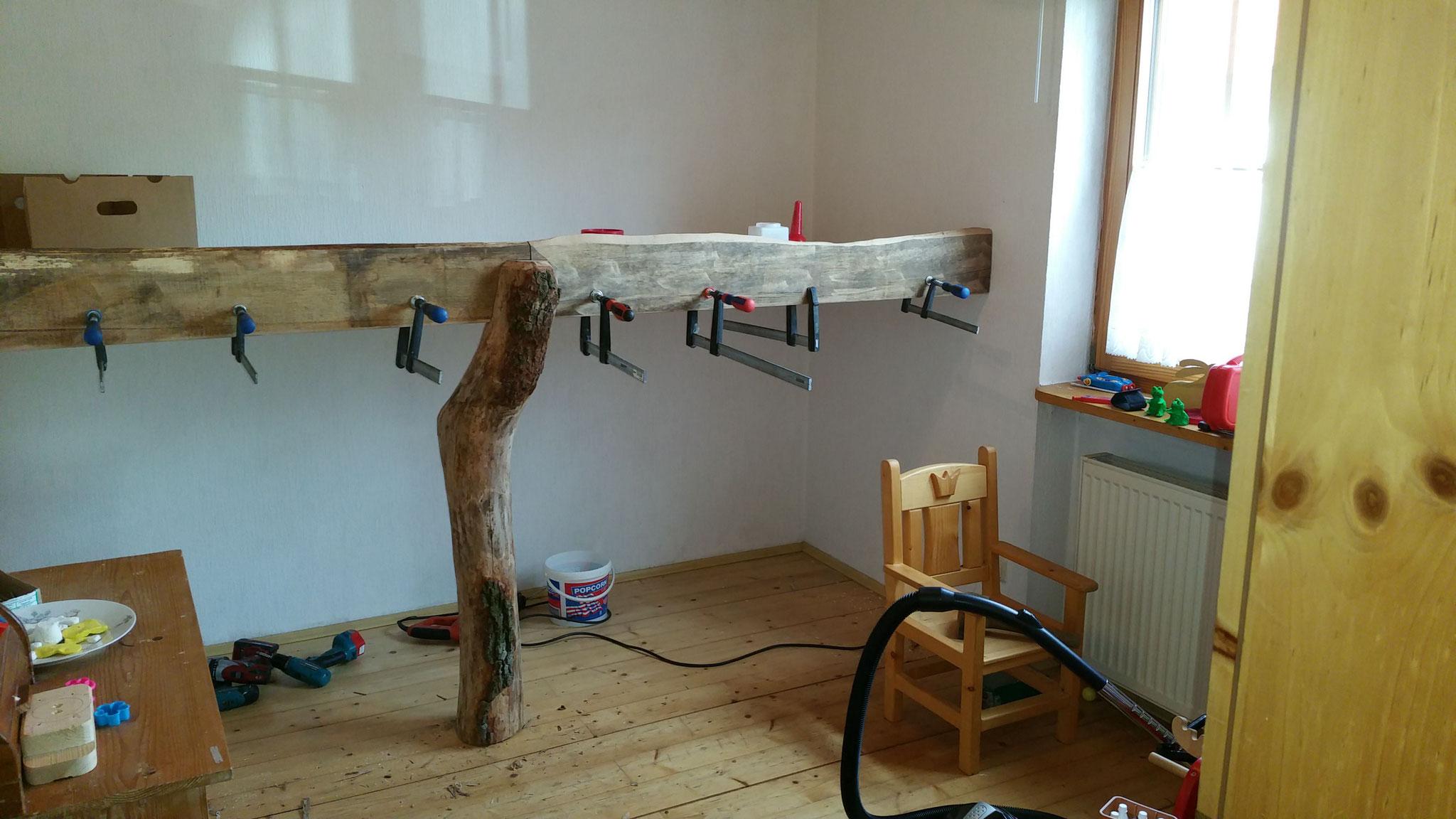 rustikales Hoch/Palettenbett - Die Holzscheune Webseite von ...