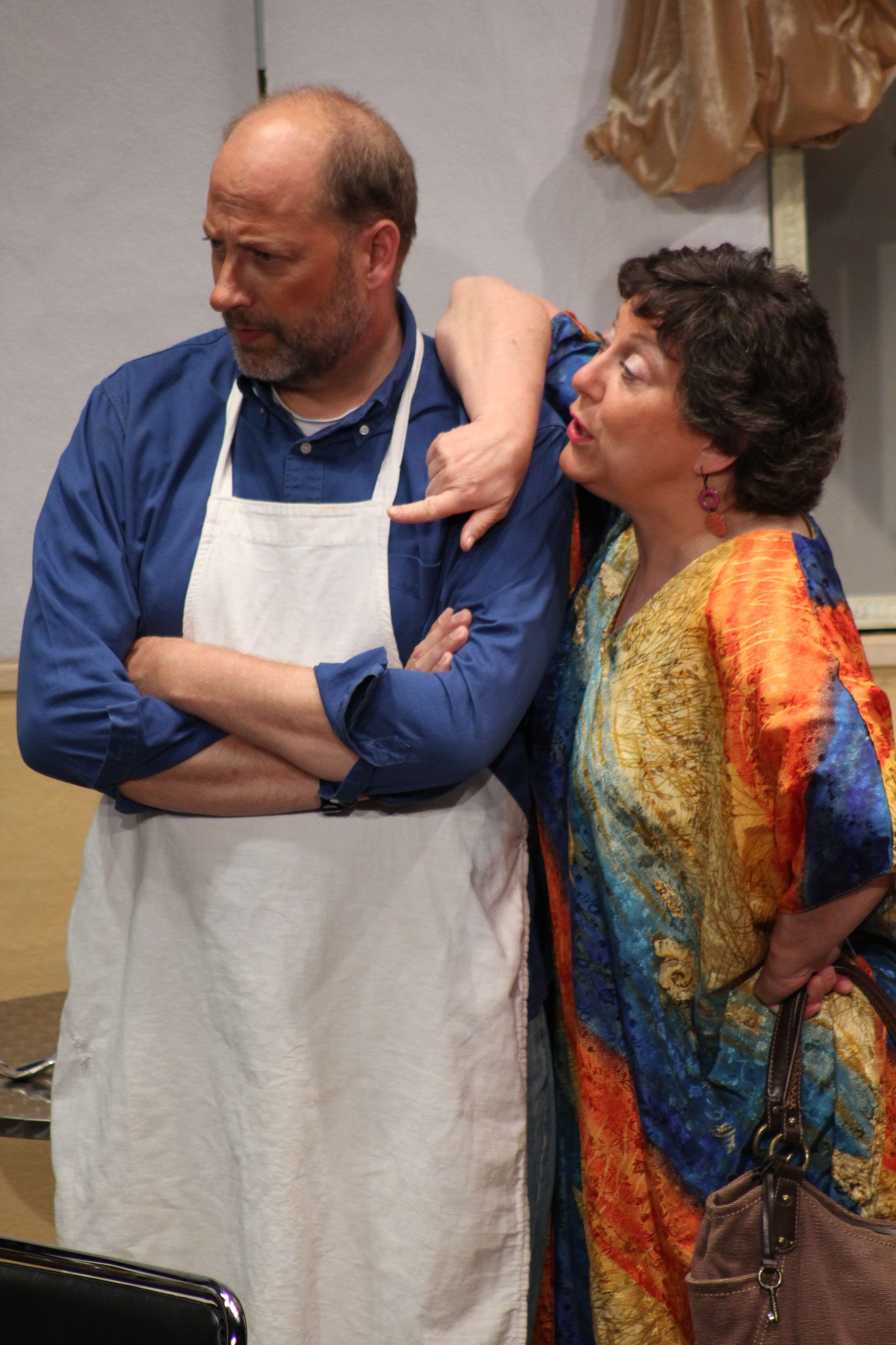 "Keith D Greenleaf and Tracy Sherman in ""Daddy's Girl"" by Gary Ray Stapp - June 2012"