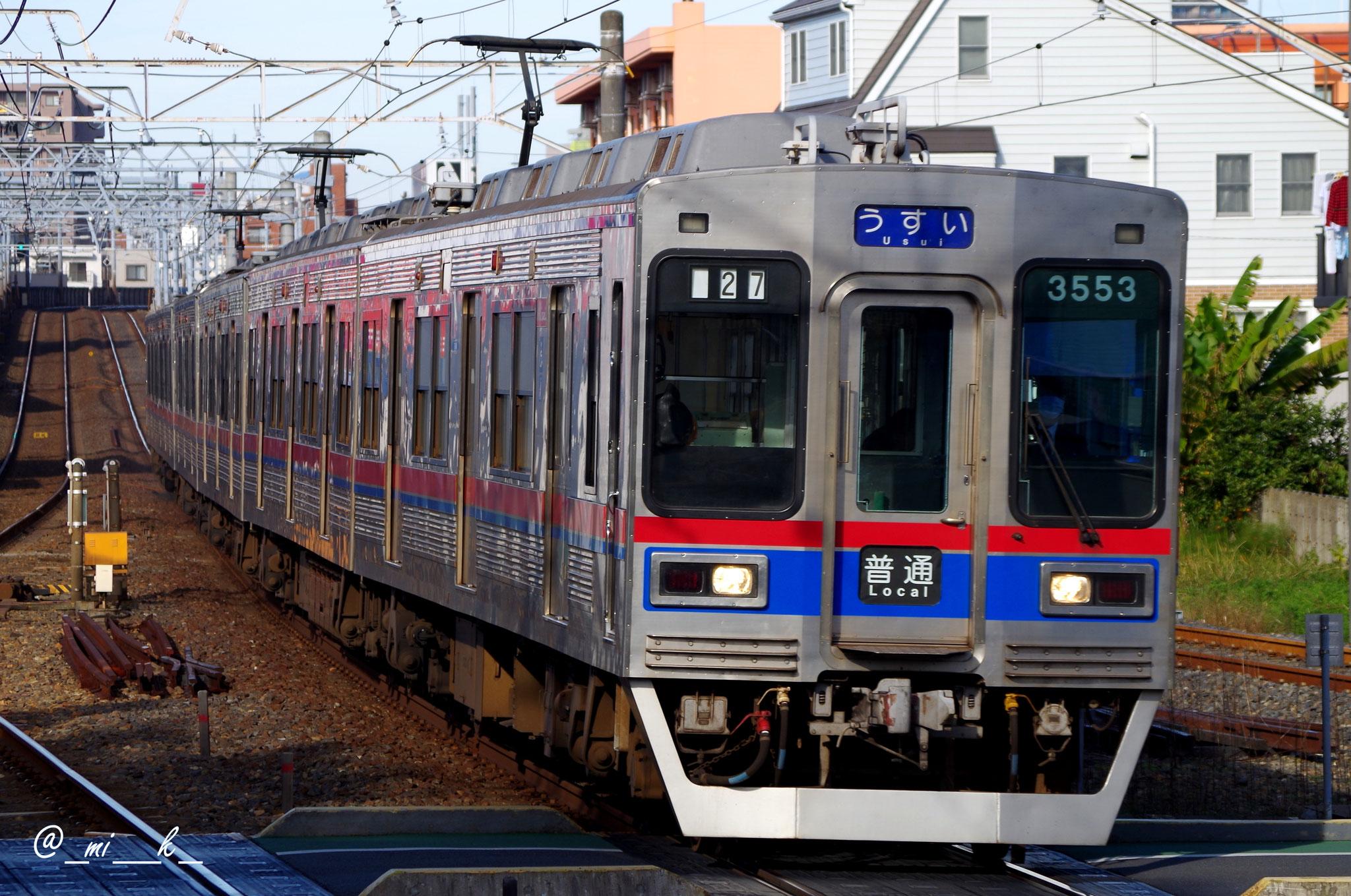 都営線への運用はなくなったが、まだまだ活躍を続ける。56両が活躍。