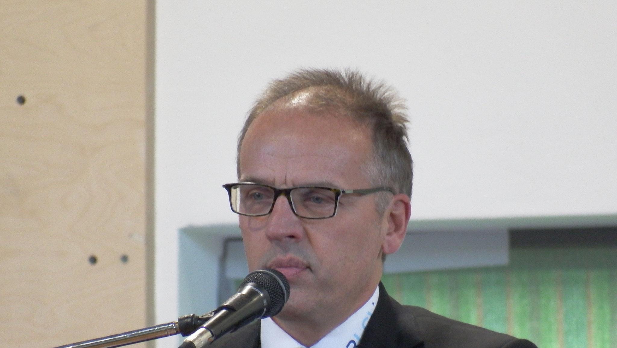 BLSV Kreisvorsitzender Klaus Greier