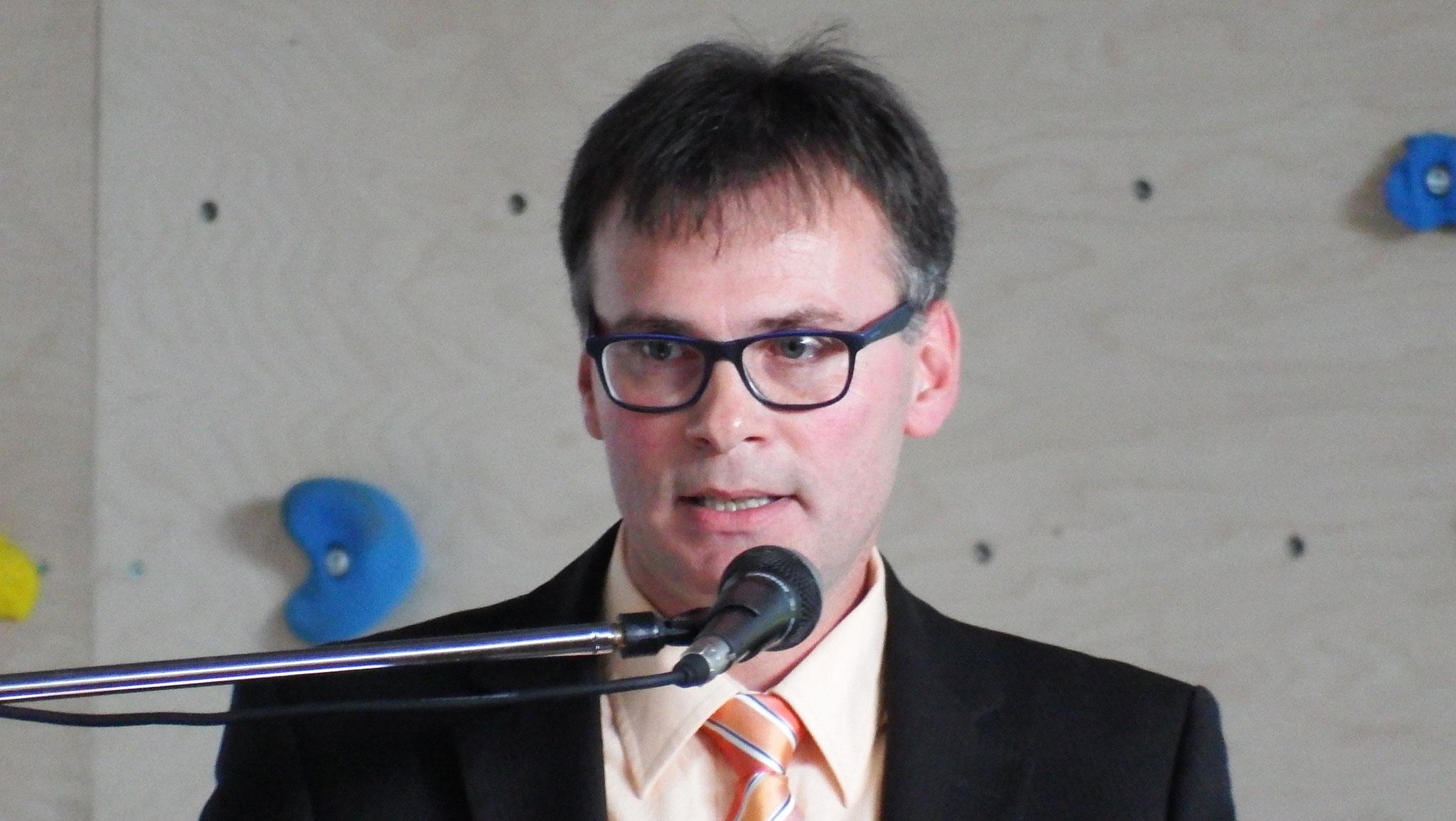 Vereinssportwart Richard Vollert